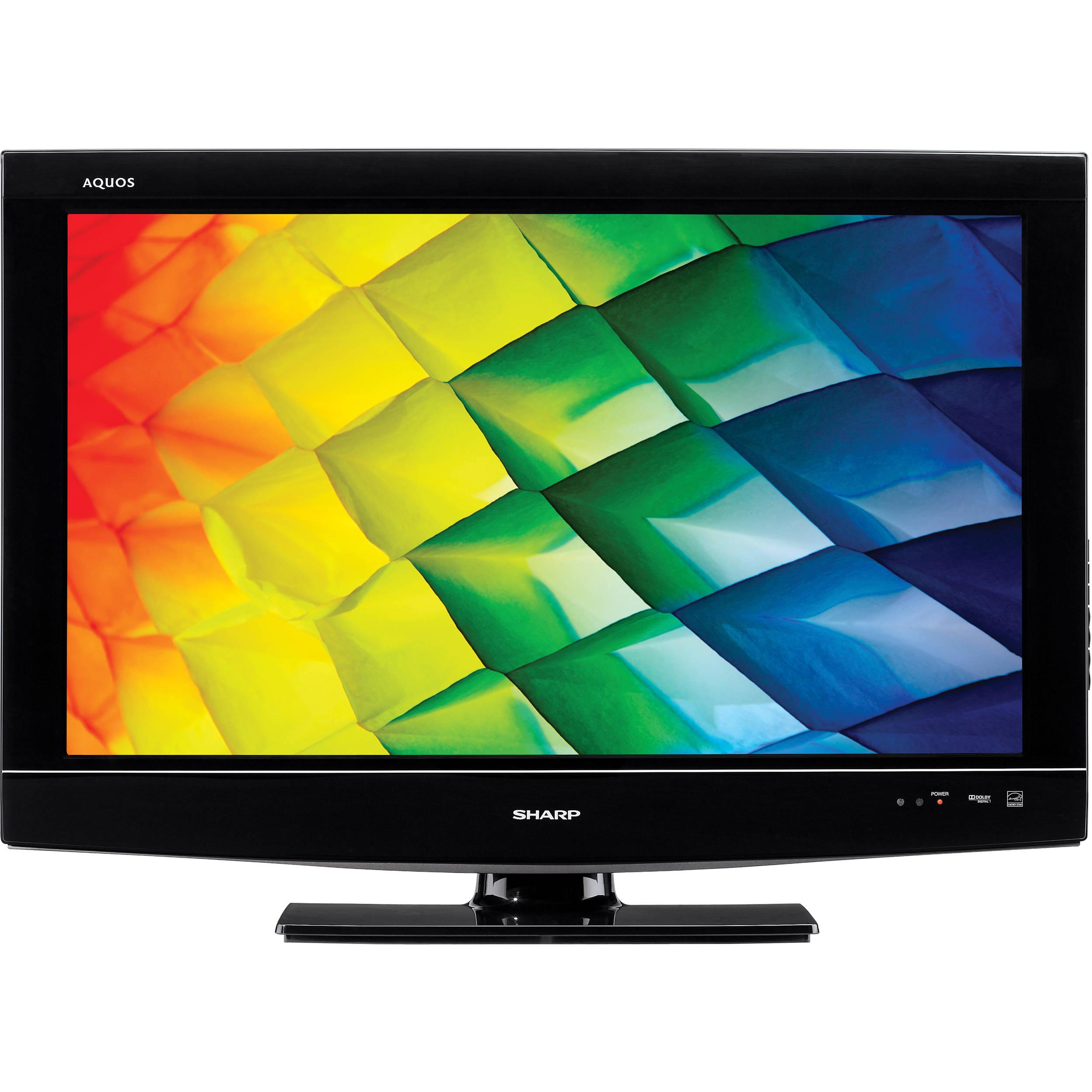 sharp lc32d47ua 32 720p lcd tv lc32d47ua b h photo video rh bhphotovideo com