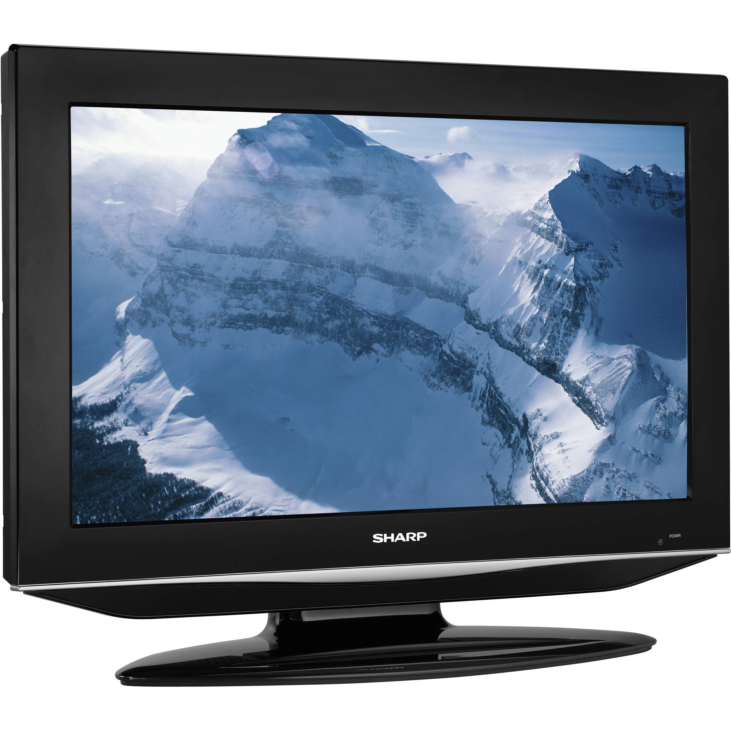 sharp lc 32dv27ut 32 lcd tv with dvd player lc32dv27ut b h. Black Bedroom Furniture Sets. Home Design Ideas