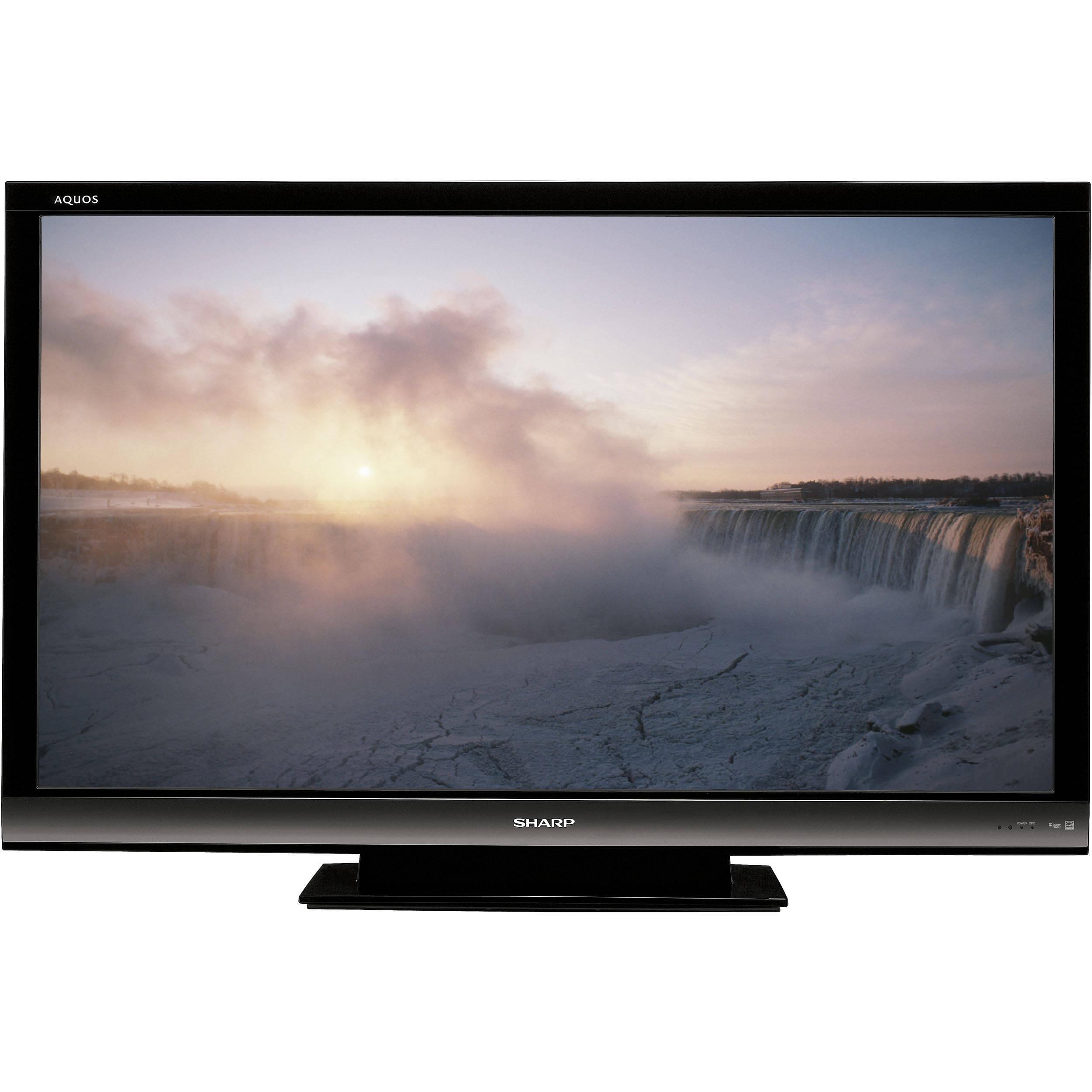 sharp flat screen tv. sharp lc-60e88un 60\ flat screen tv
