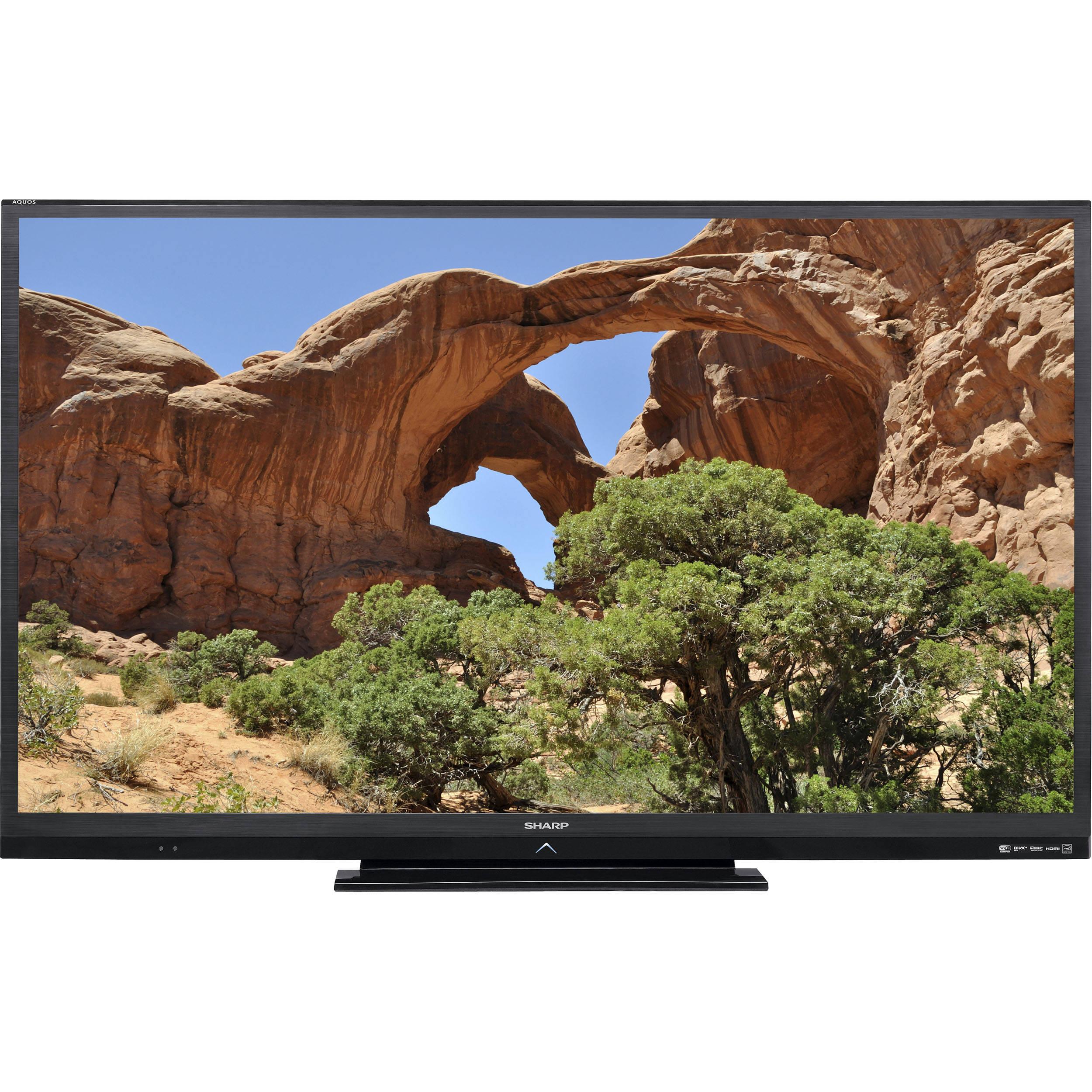 sharp lc 70le640u aquos 70 1080p led lcd tv lc70le640u b h rh bhphotovideo com sharp aquos quattron 70 inch manual Sharp AQUOS 60 Inch TV