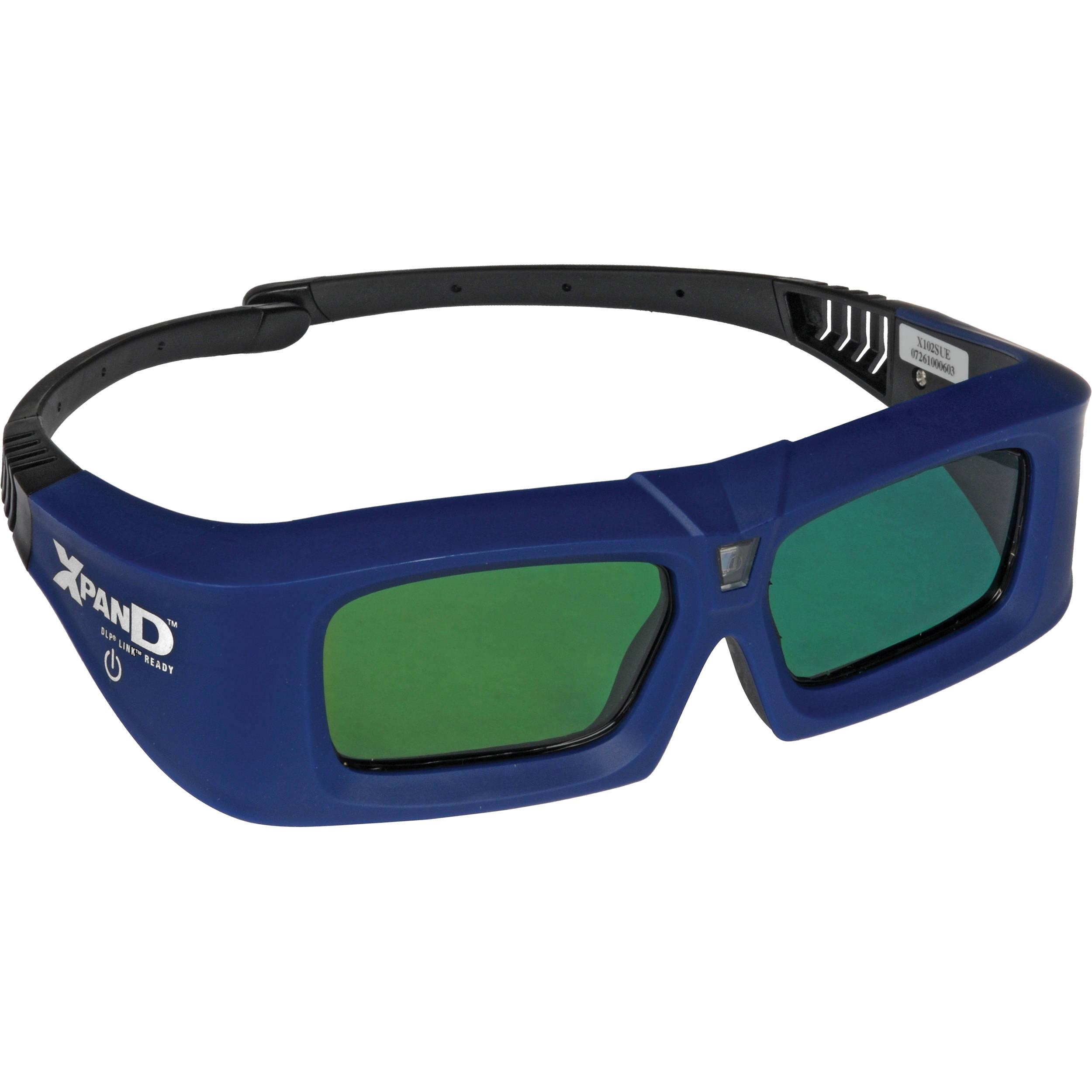 Sharp X102 3D Active Shutter Glasses X102 B&H Photo Video