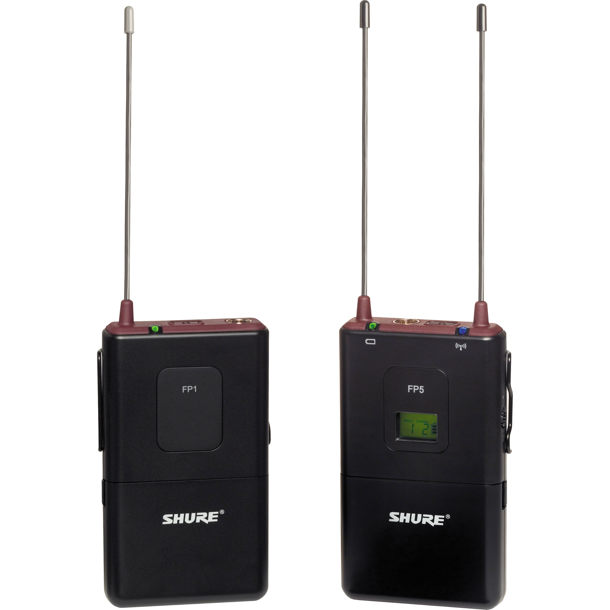 Shure FP Wireless Bodypack System (No Mic) (H5   518 - 542MHz) f5854d8feb