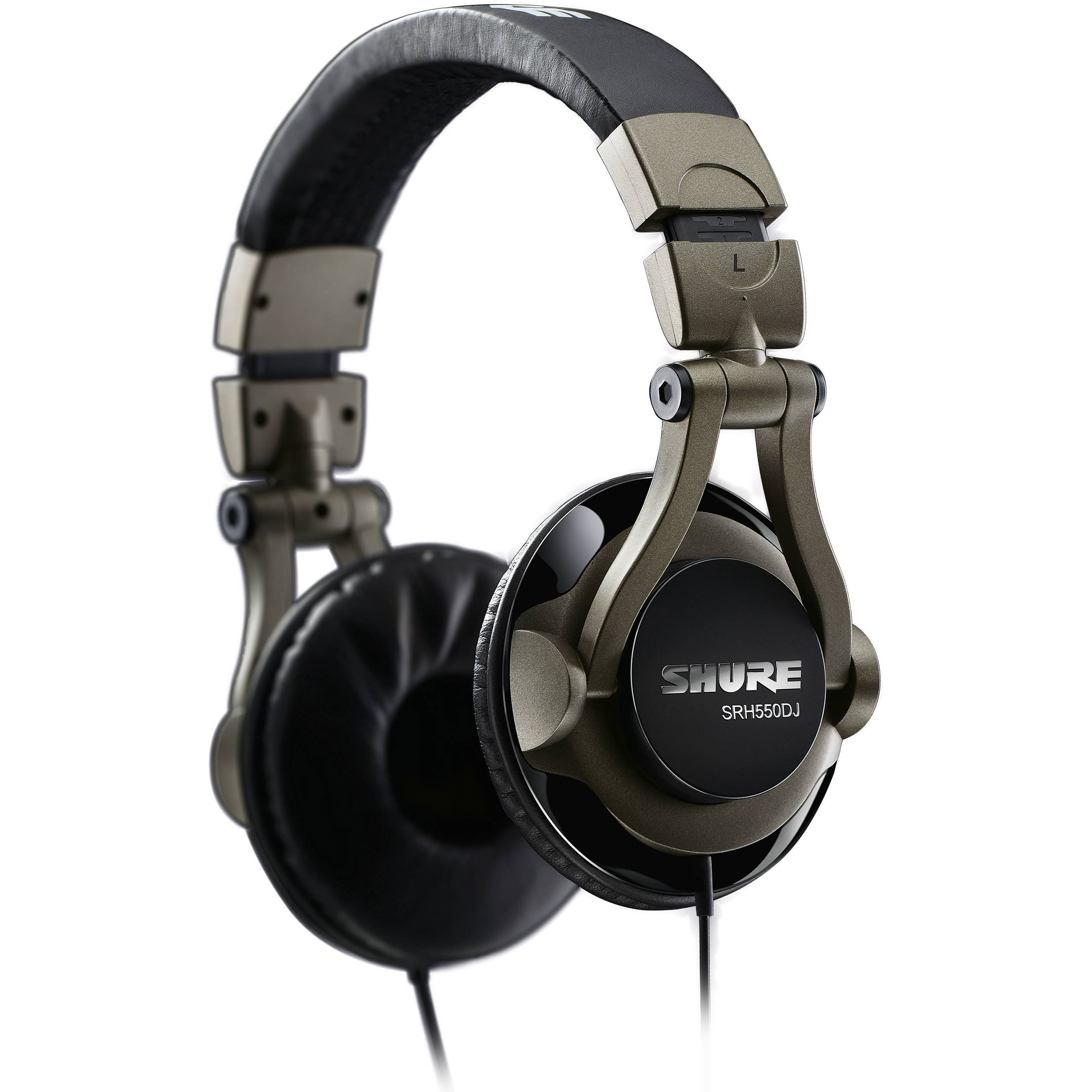 Shure SRH550DJ Professional Quality DJ Headphones SRH550DJ B H 82ed1a8928be1