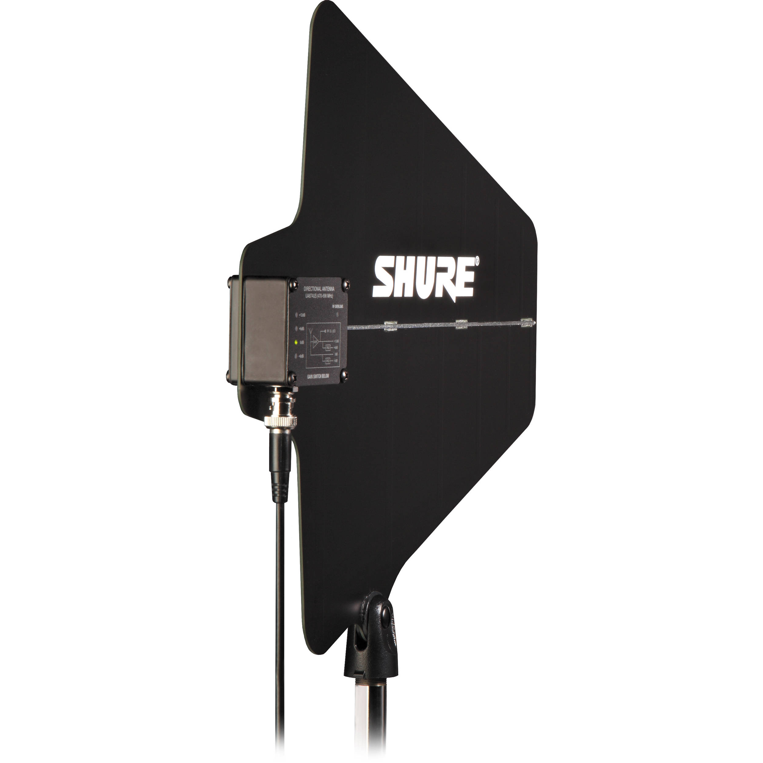 shure ua874 active directional antenna ua874us b h photo video. Black Bedroom Furniture Sets. Home Design Ideas