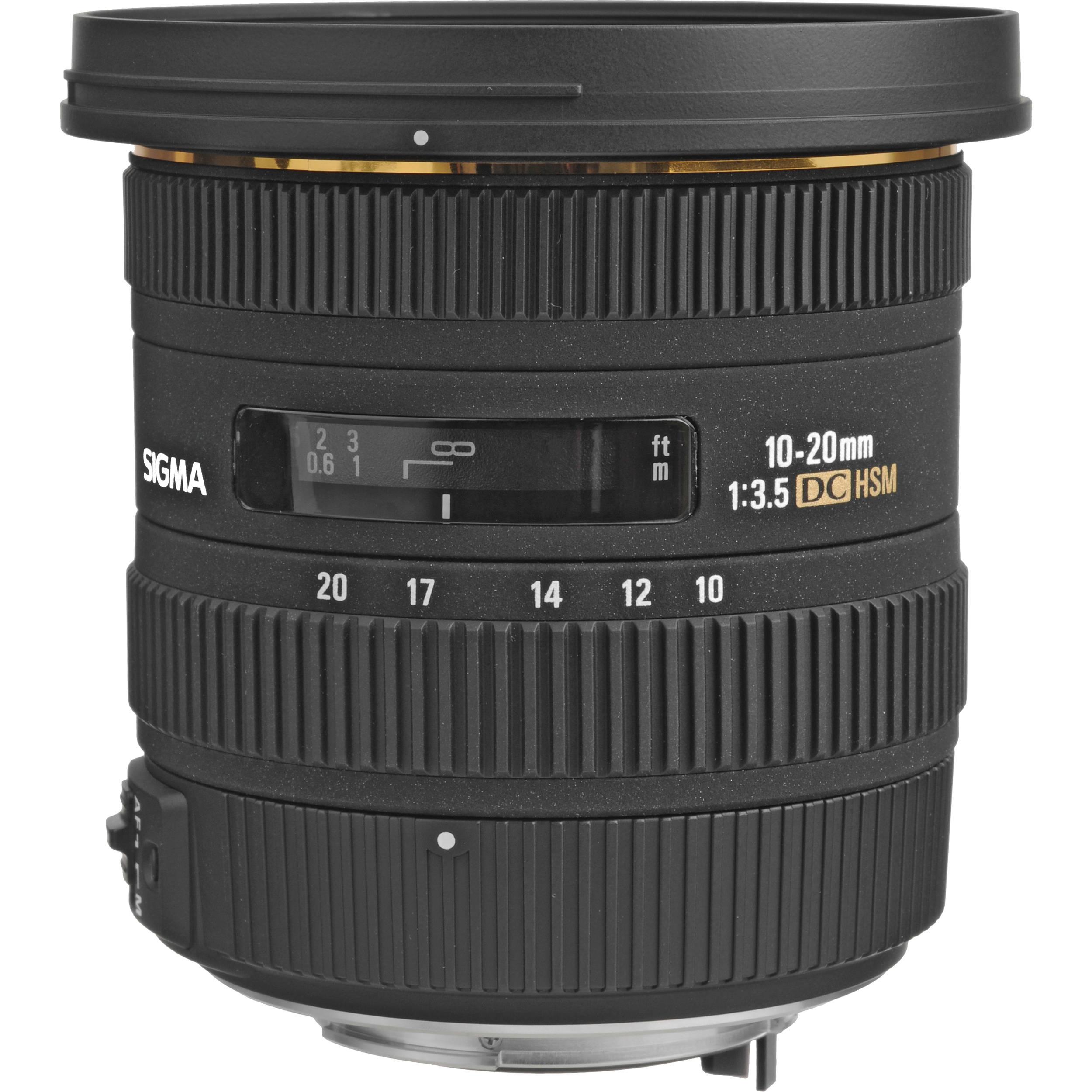 Sigma 10-20mm f/3.5 EX DC HSM Autofocus Zoom Lens 202109 B&H