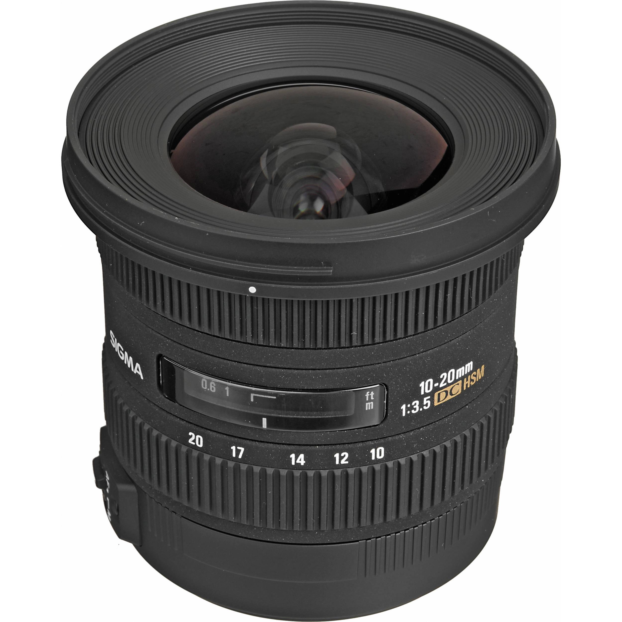 Sigma 10-20mm f/3.5 EX DC HSM Autofocus Zoom Lens 202205 B&H