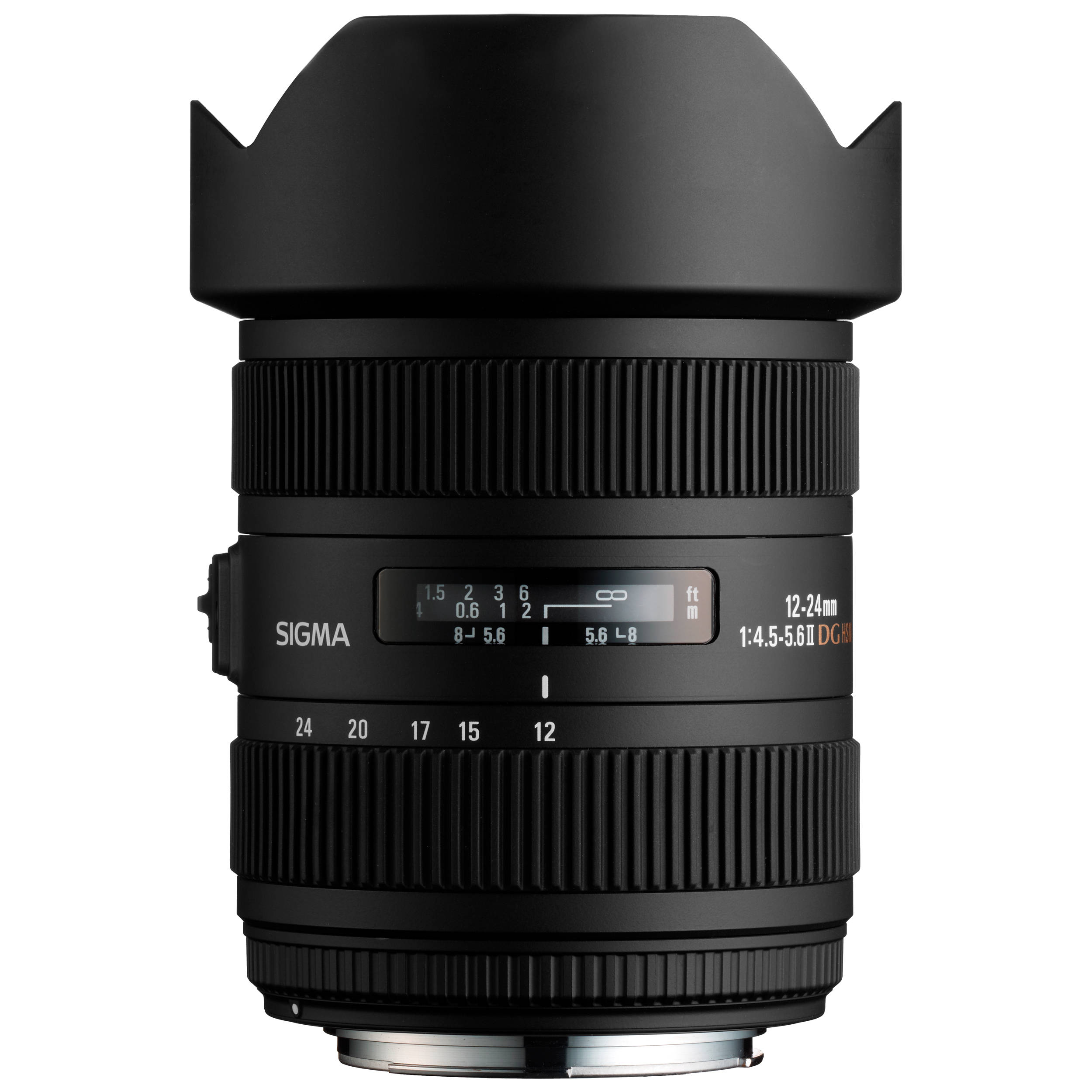 Sigma 12 24mm F 4 5 5 6 Dg Hsm Ii Lens For Canon 204101 B Amp H