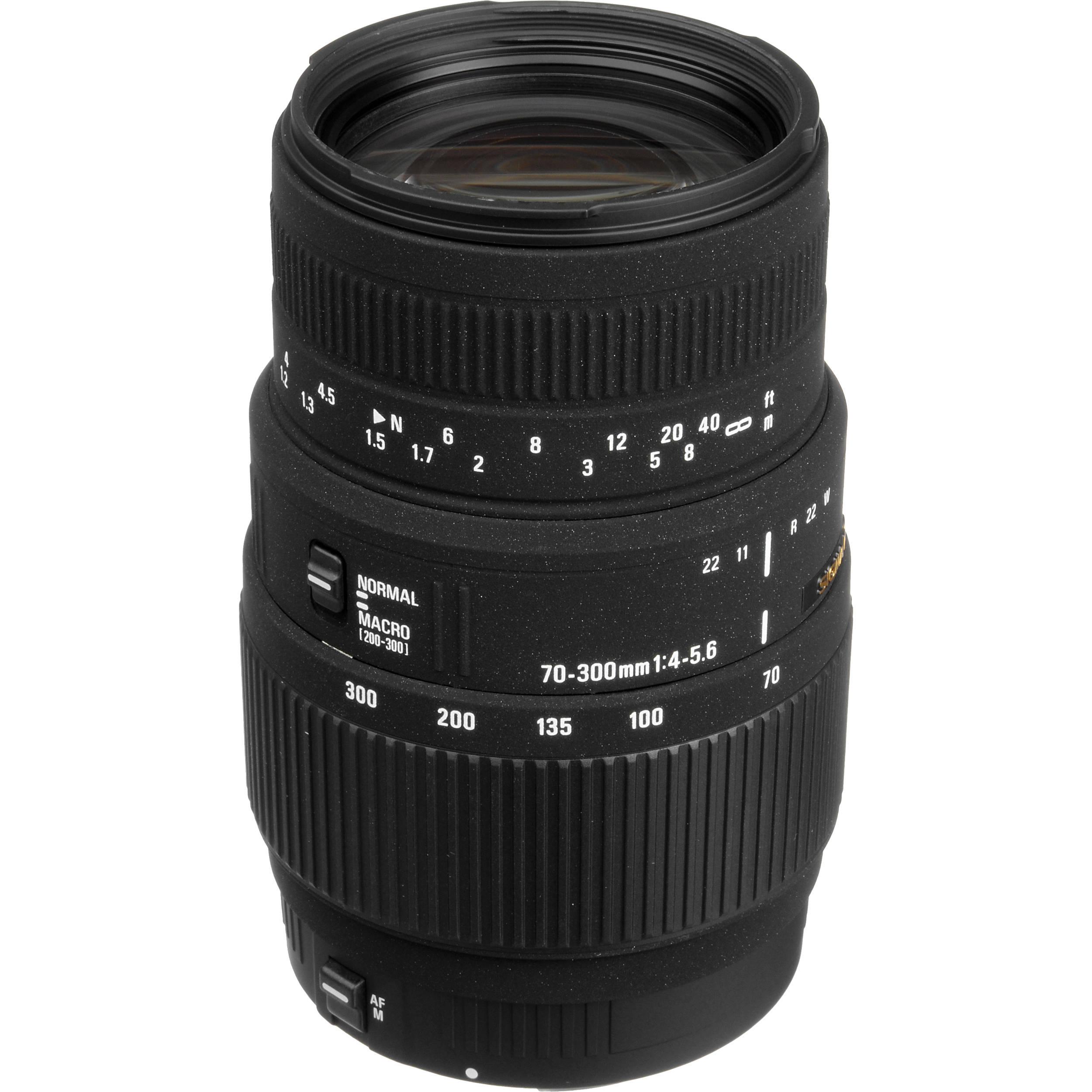 Sigma 70-300mm f/4-5.6 DG Macro Lens for Canon EOS 509101 B&H