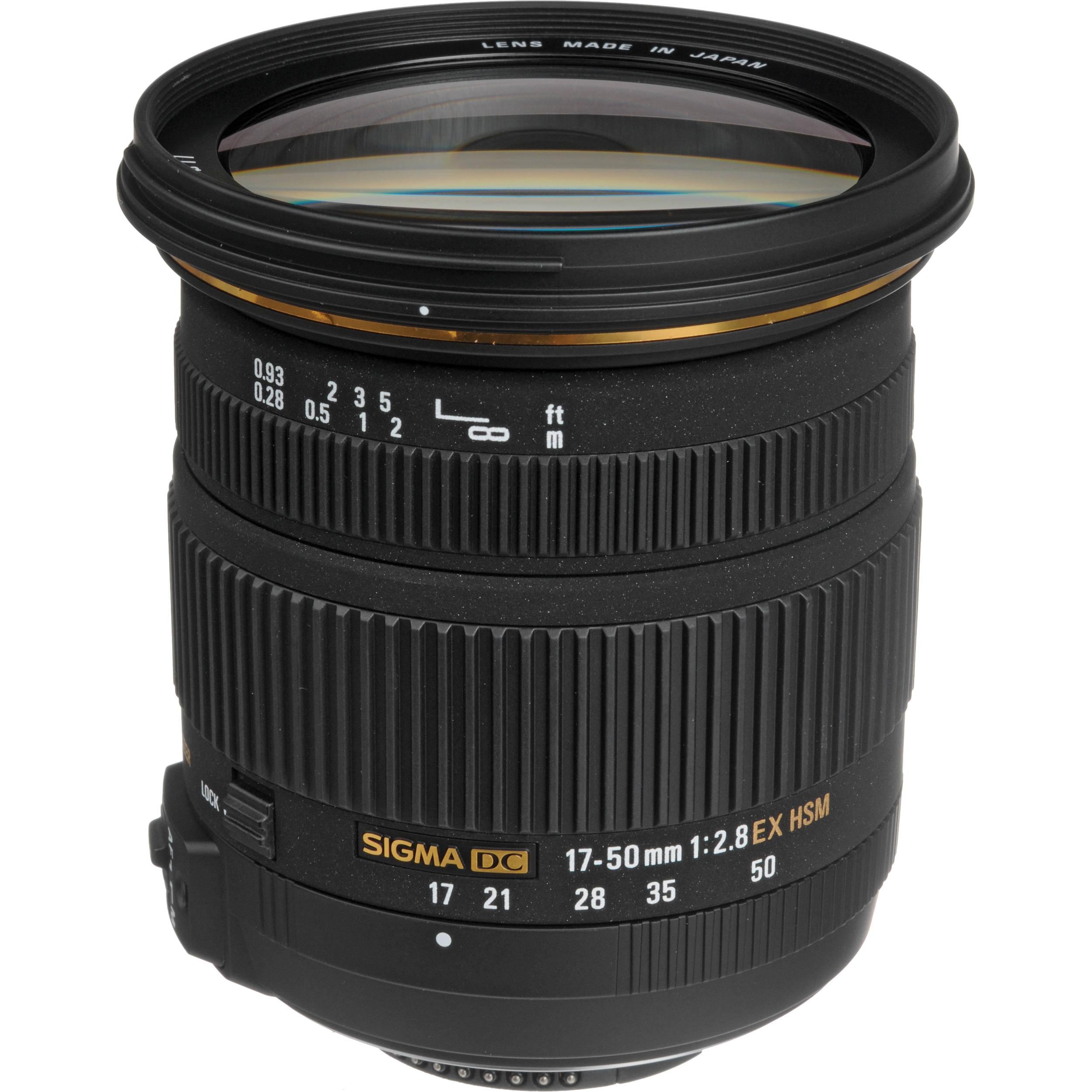 Sigma 17 50mm F 28 Ex Dc Os Hsm Lens For Nikon 583306 Bh Parts Diagram Where To Get A D5000 Slr