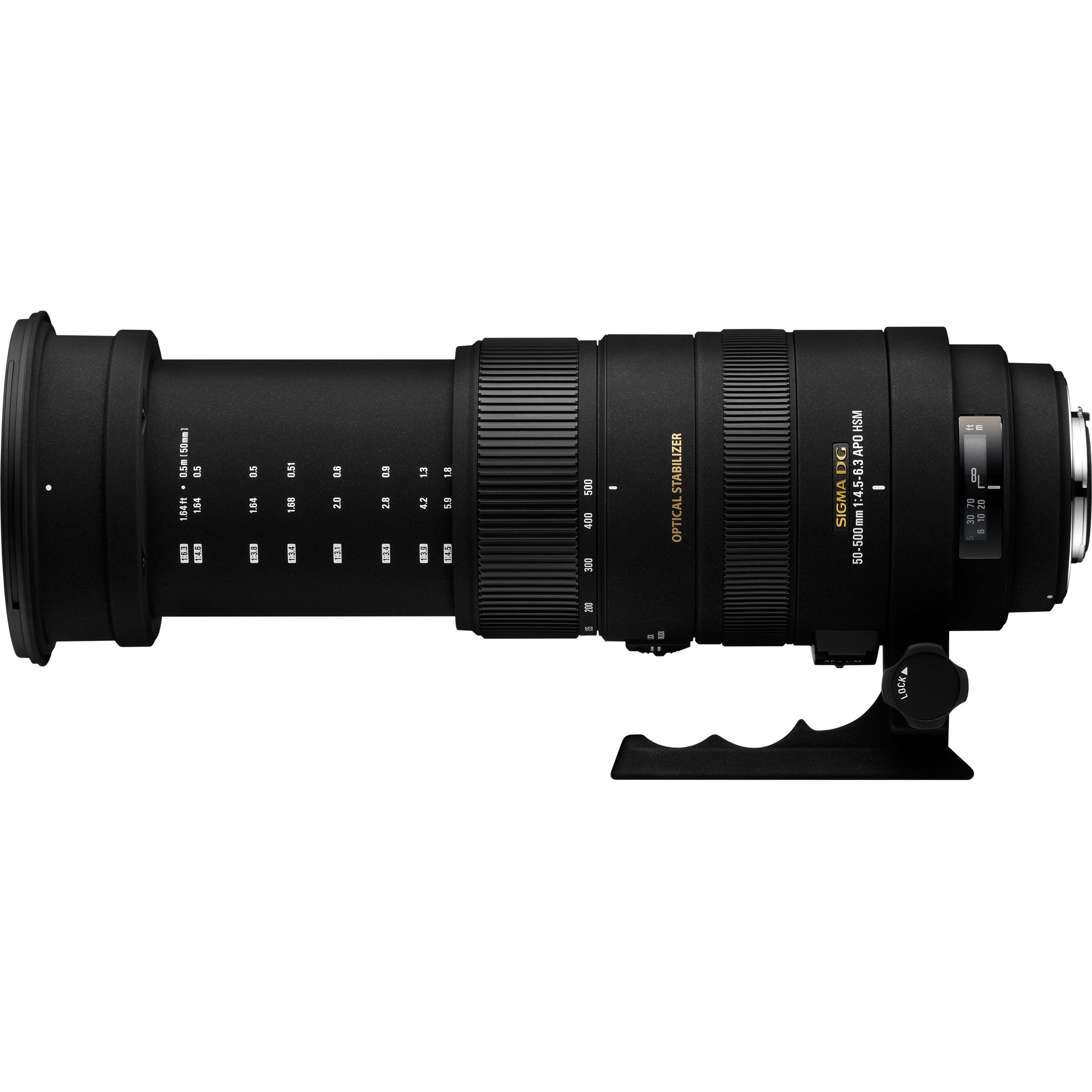 sigma 50 500mm f 4 5 6 3 dg os hsm apo lens for sigma. Black Bedroom Furniture Sets. Home Design Ideas