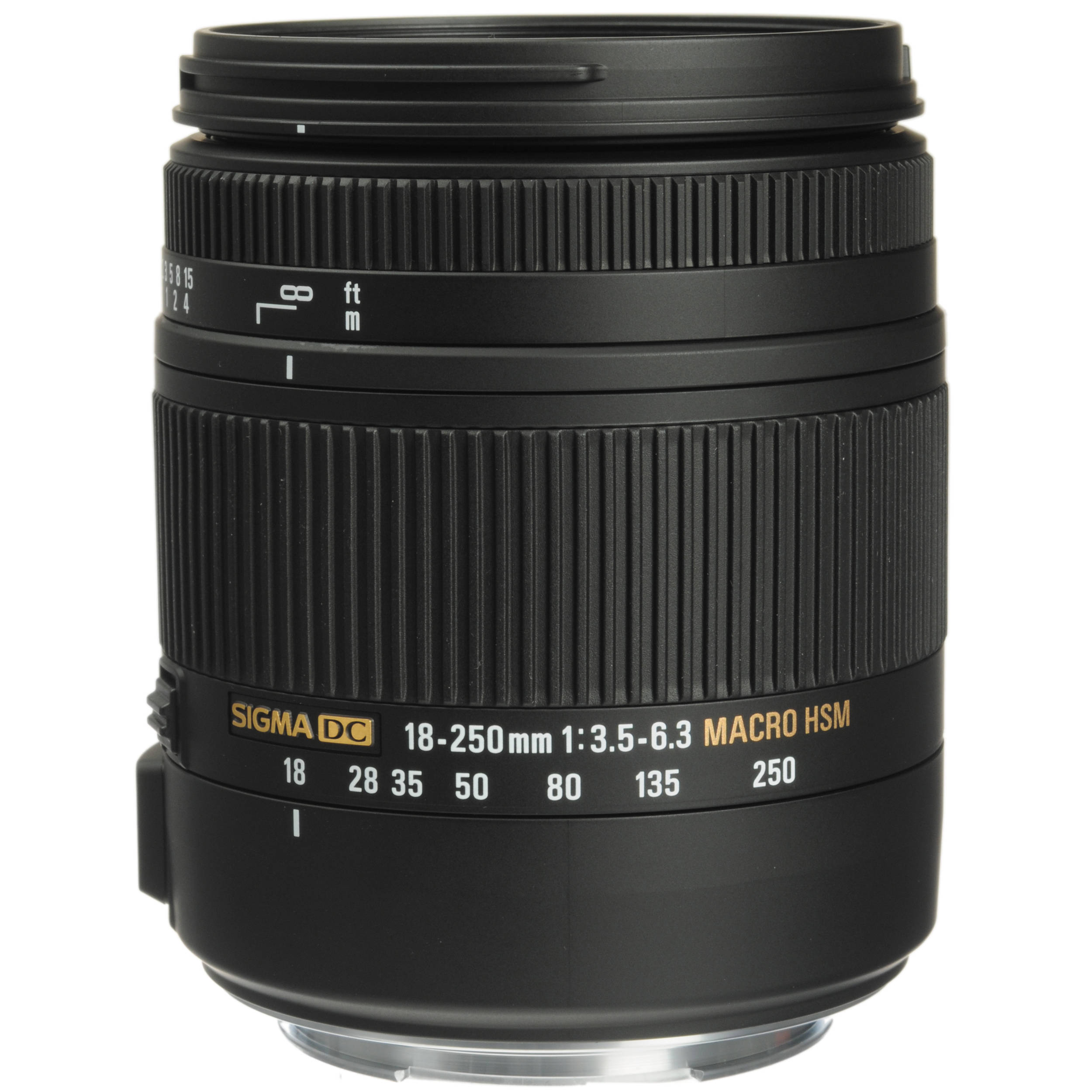 Sigma 18-250mm F3.5-6.3 DC Macro OS HSM for Canon EF 883-101 B&H
