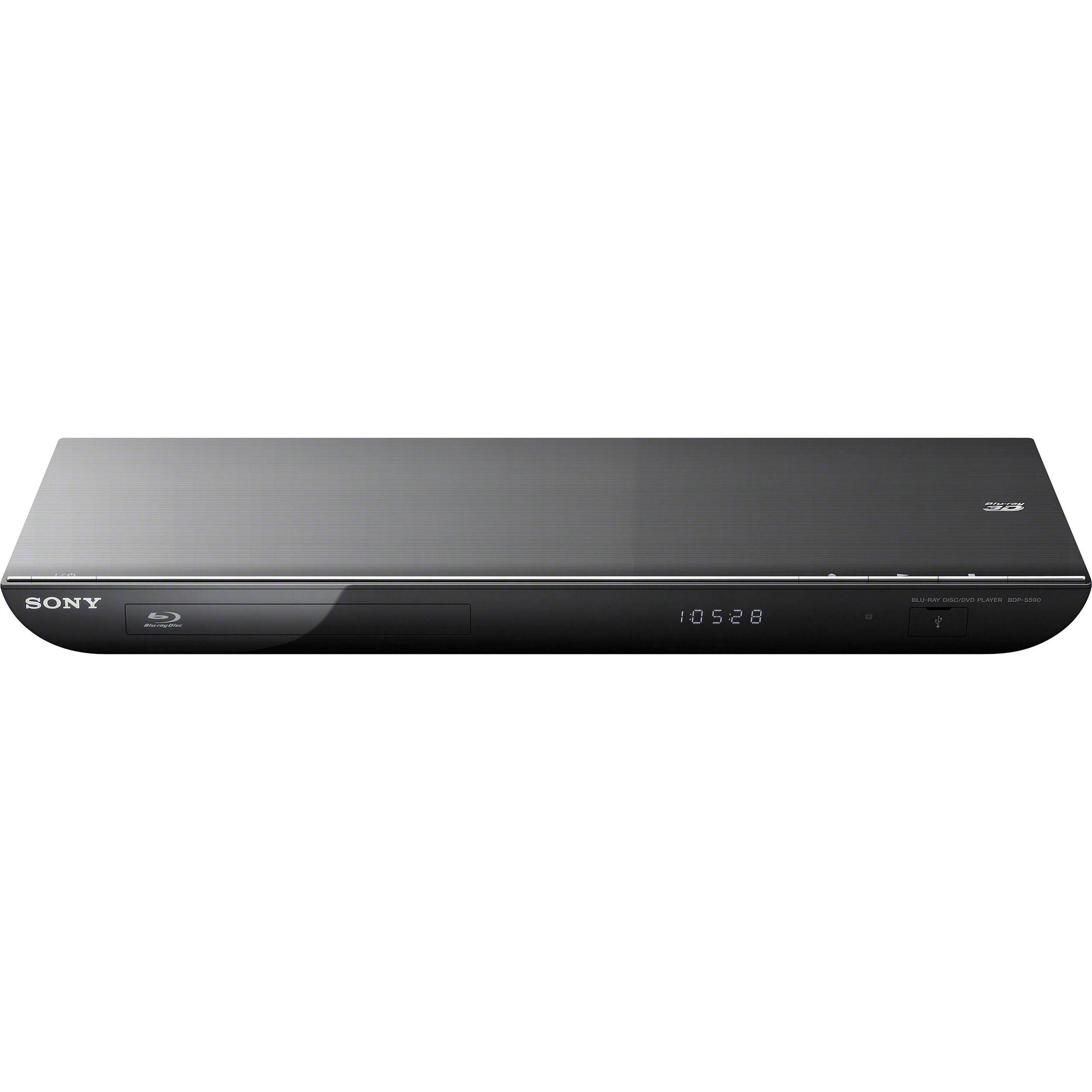 sony bdp s590 blu ray disc player bdps590 b h photo video. Black Bedroom Furniture Sets. Home Design Ideas