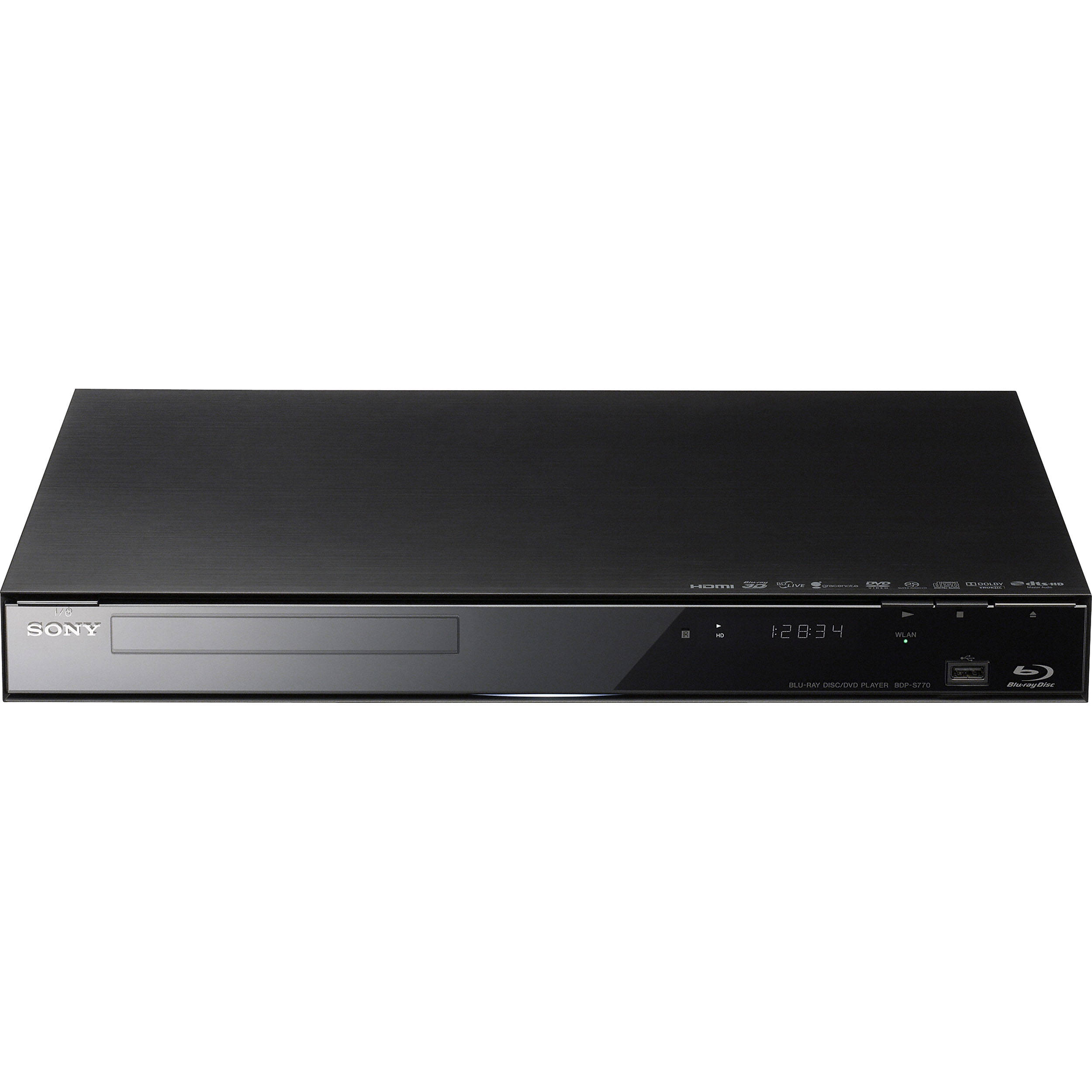 sony bdp s770 3d blu ray disc player with wi fi bdp s770 b h. Black Bedroom Furniture Sets. Home Design Ideas
