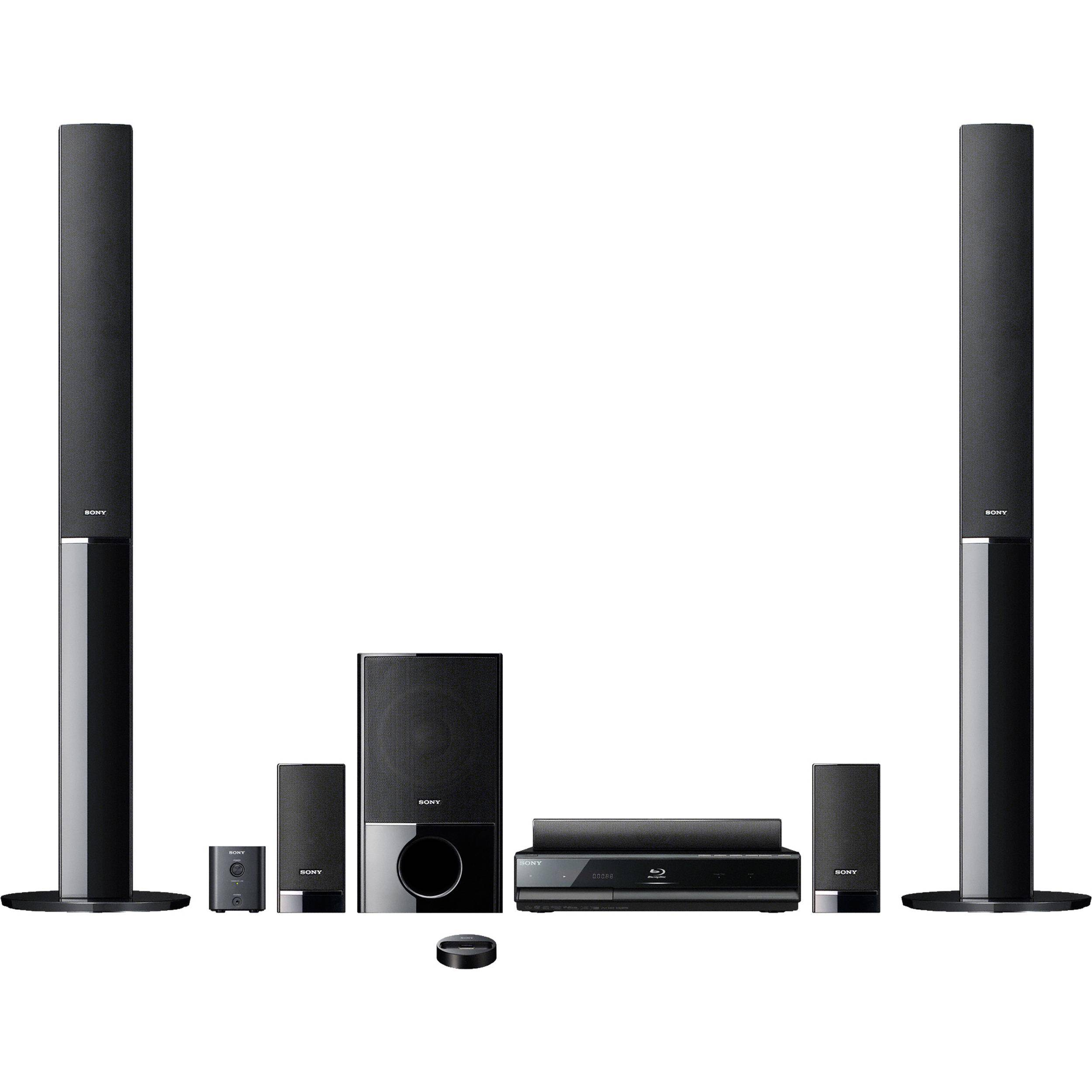 sony bdv e500w blu ray home theater system bdve500w b h photo. Black Bedroom Furniture Sets. Home Design Ideas
