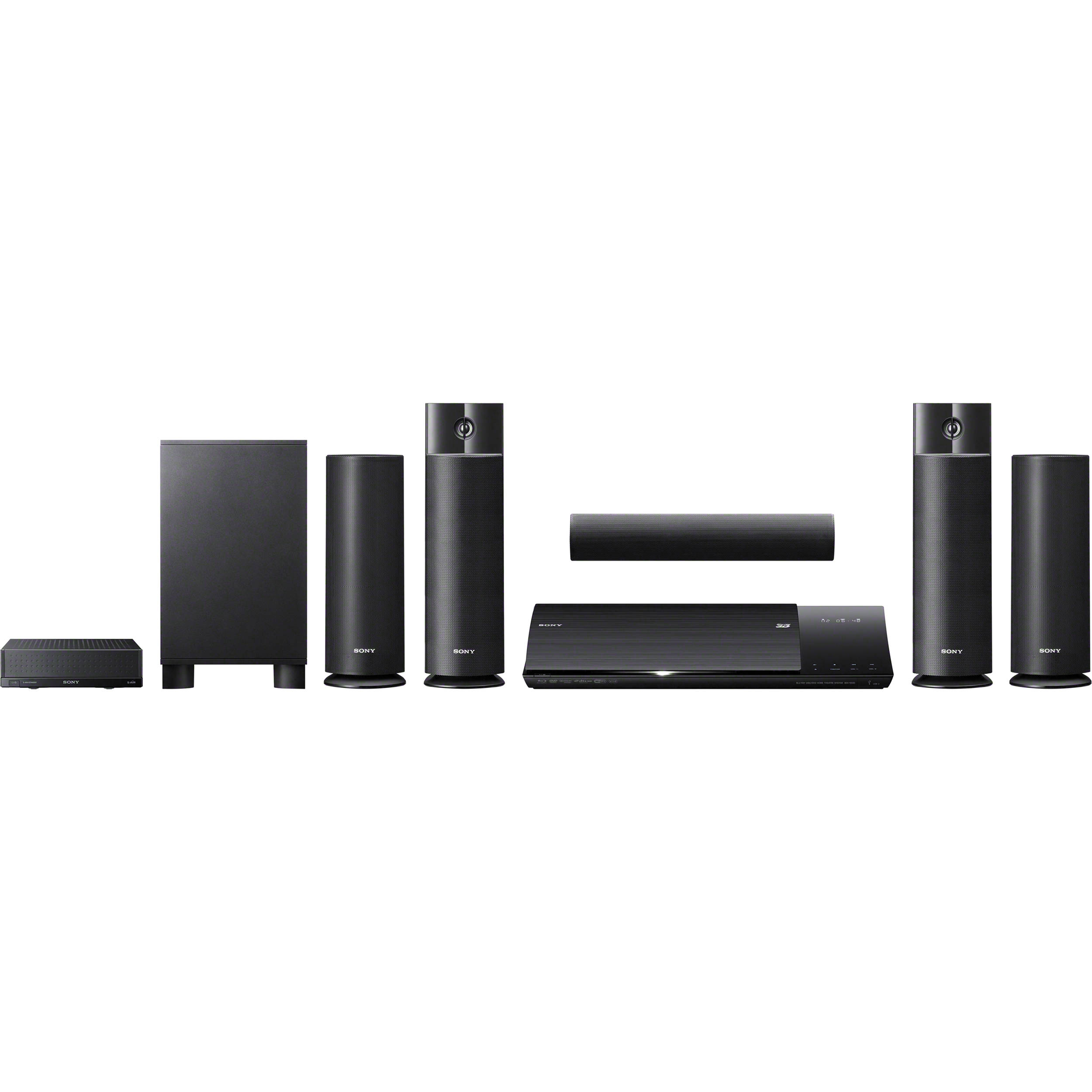 sony bdvn790w 3d blu ray home theater system bdvn790w b h photo. Black Bedroom Furniture Sets. Home Design Ideas