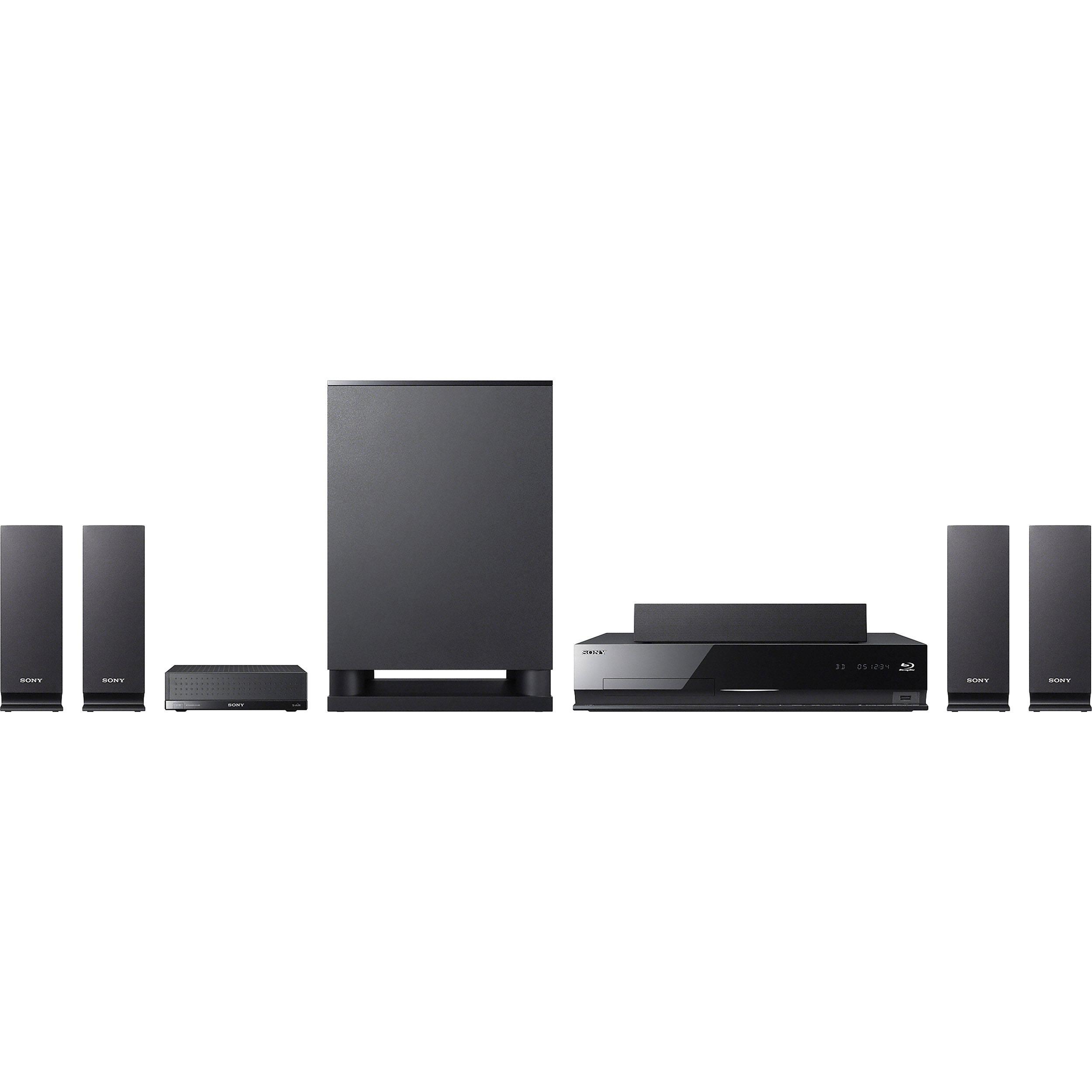 sony bdv e770w blu ray home theater system bdv e770w b h photo. Black Bedroom Furniture Sets. Home Design Ideas