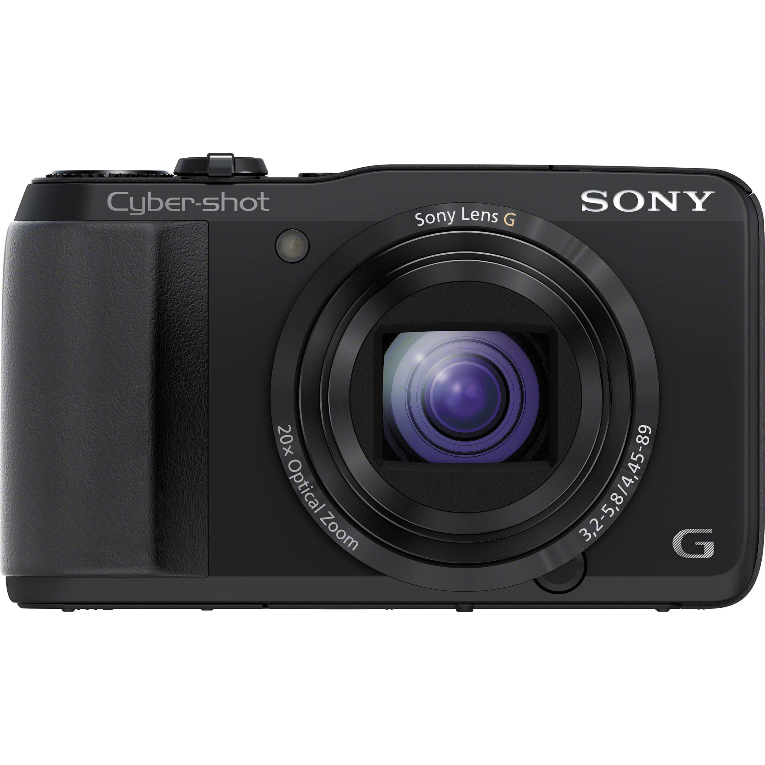 Sony Cyber Shot Dsc Hx30v Digital Camera Dschx30v B B Amp H Photo