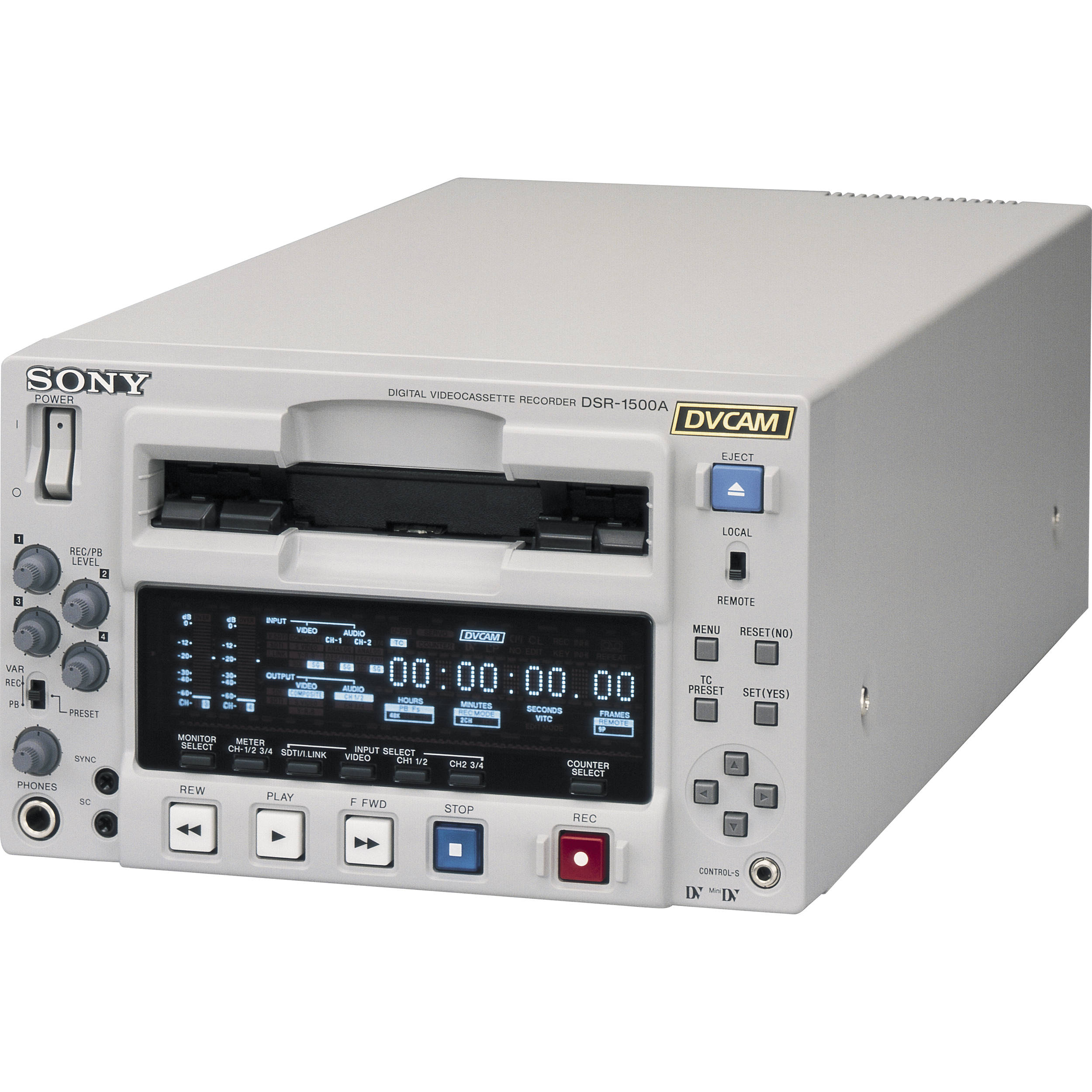 sony dsr 1500a dvcam compact player recorder dsr1500a b h photo rh bhphotovideo com Sony DVCAM Recorder Sony DV Recorder