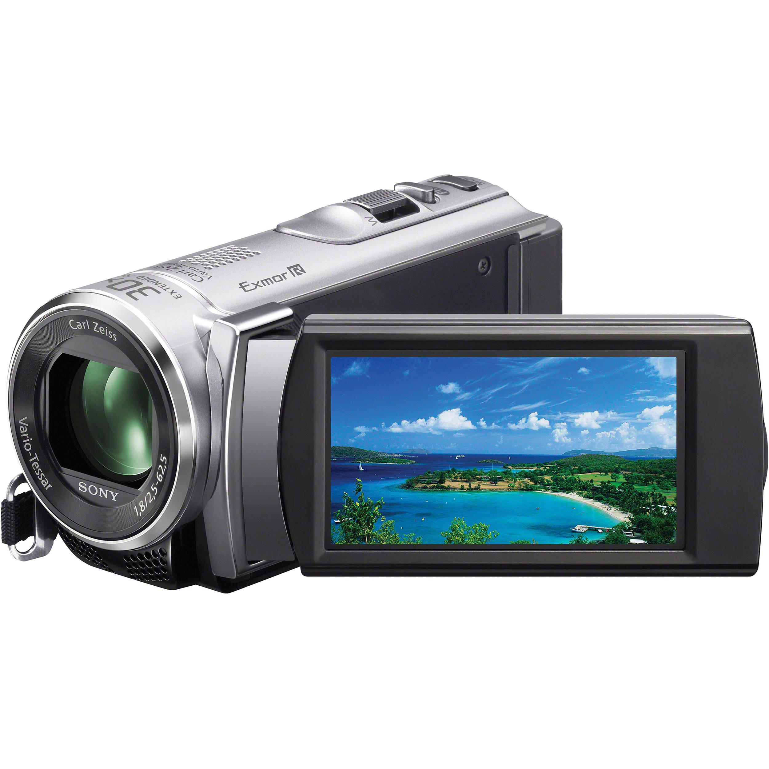 sony hdr cx210 high definition handycam camcorder hdrcx210 s b h rh bhphotovideo com High-Tech Sony Camcorder 800 Sony Camcorder