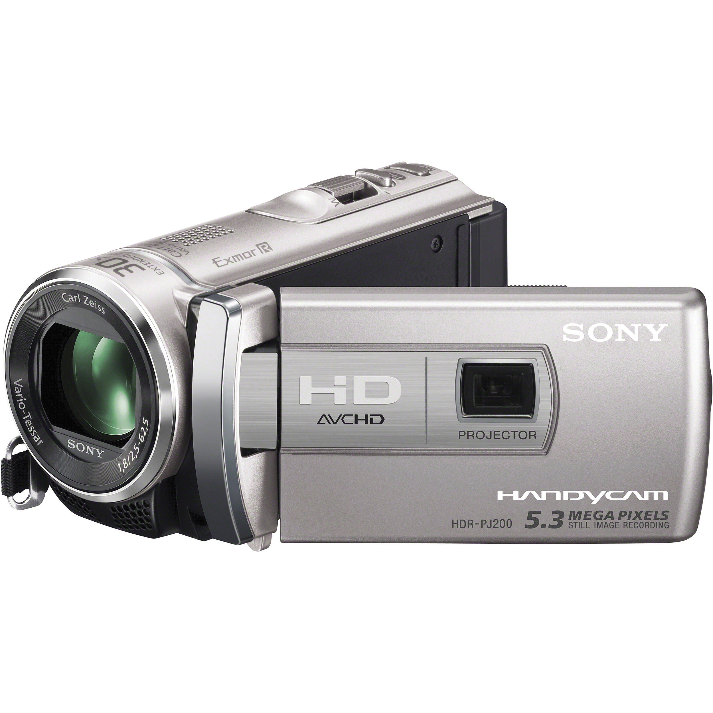 Sony HDR-PJ200 High Definition Handycam Camcorder HDRPJ200 ...