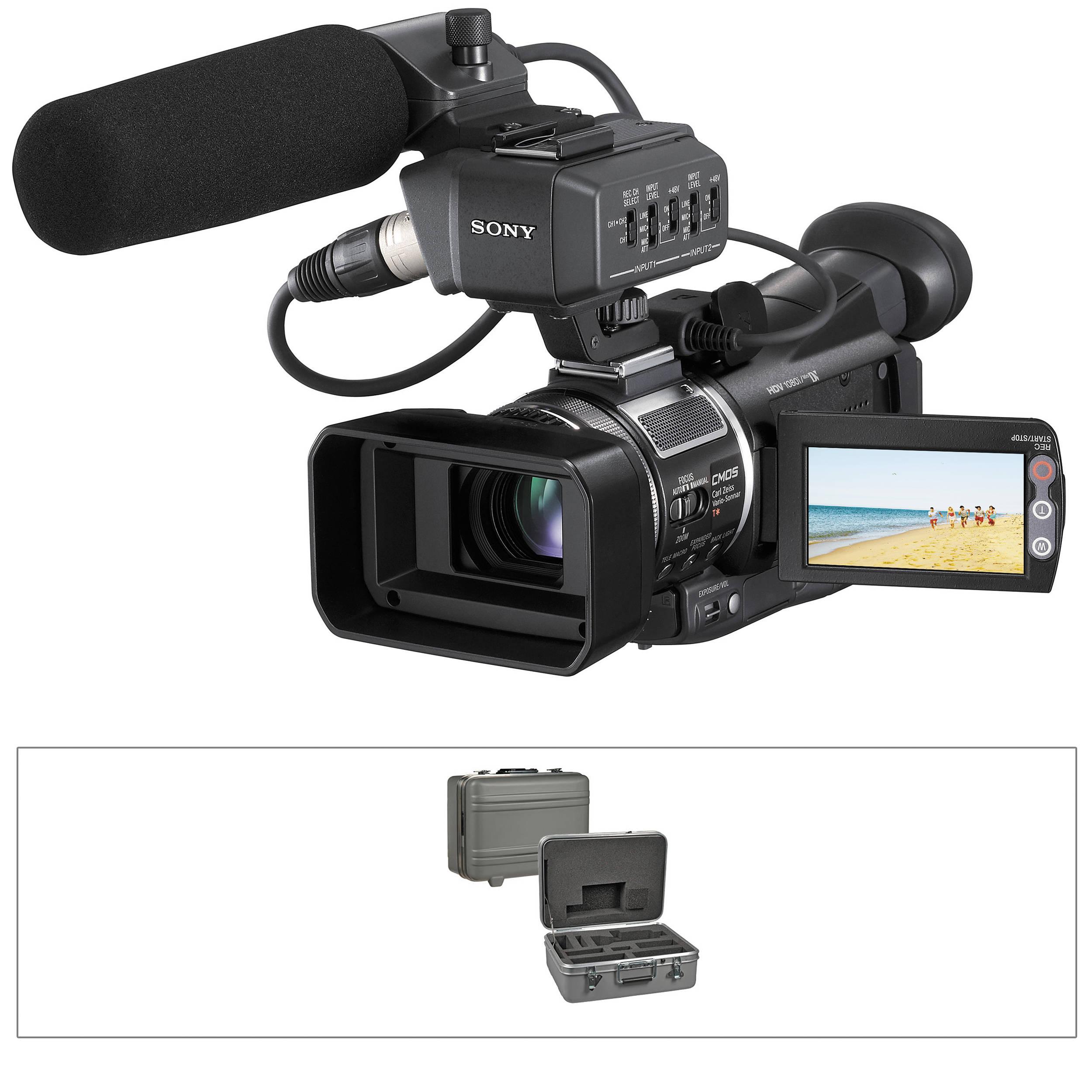 sony hvra1u hdv camcorder hvra1uthpac b h photo video rh bhphotovideo com Sony Handycam Manual sony hvr-a1u manual español