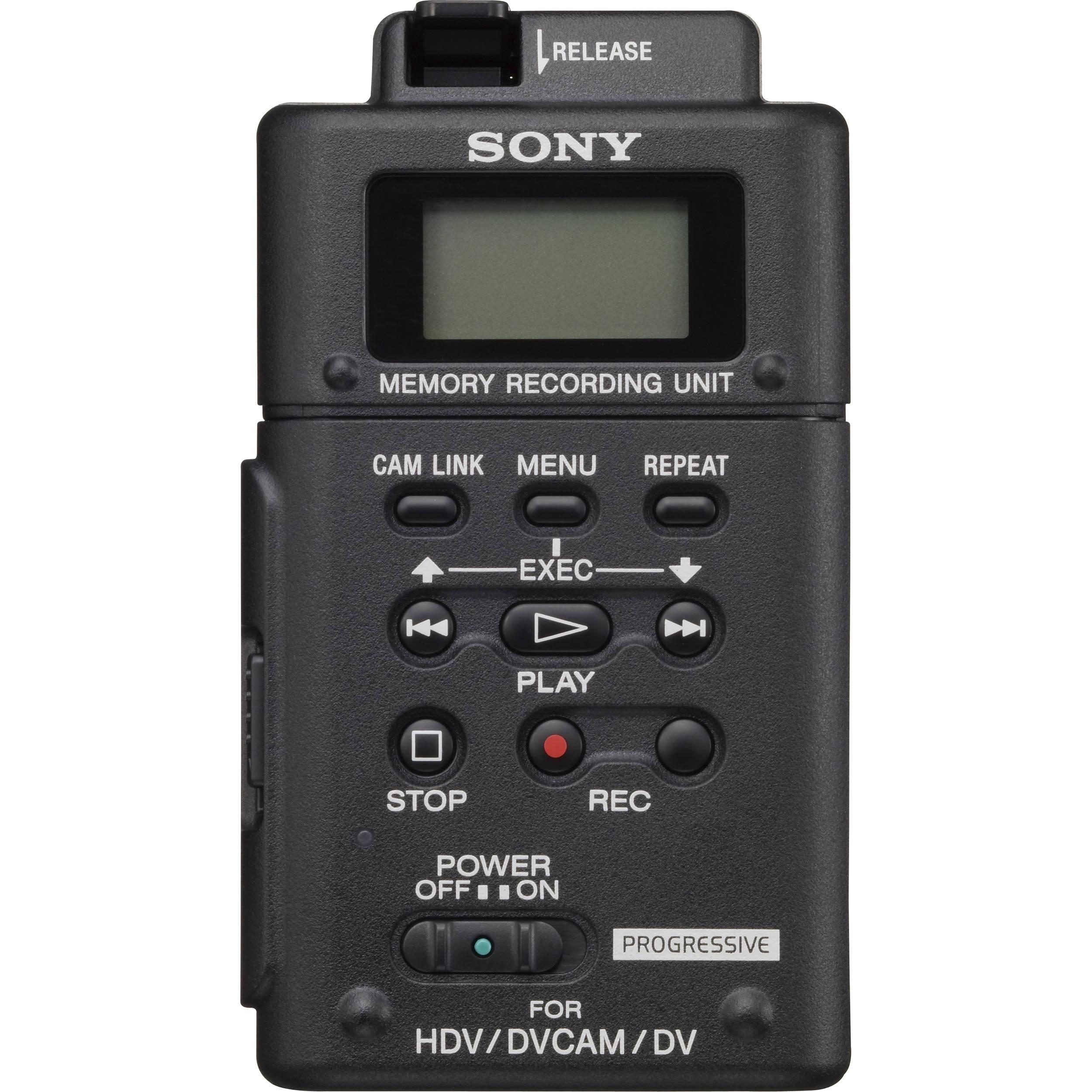 Sony Recording Sony Hvr-mrc1 Memory Recording