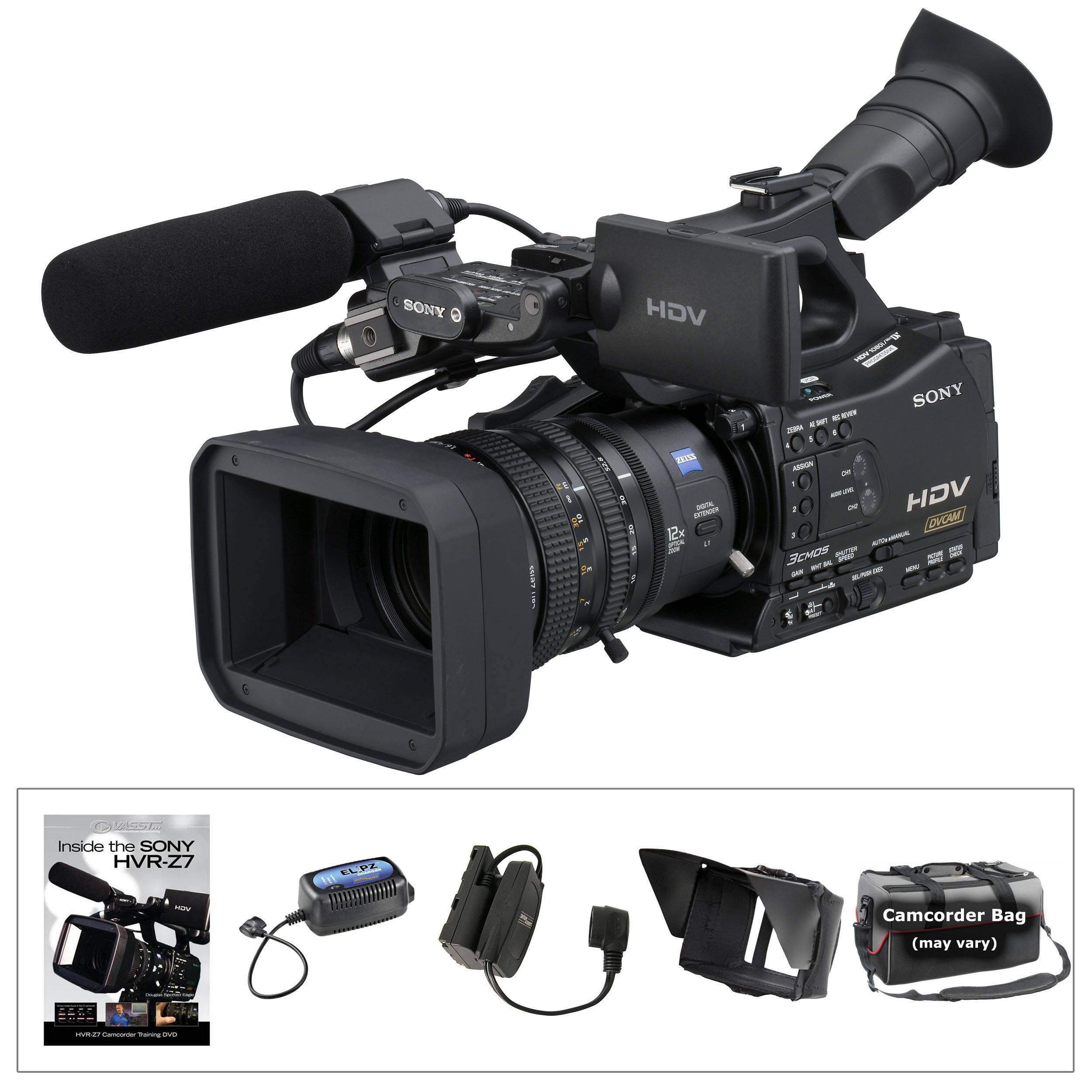 sony hvr z7u hdv camcorder elipz kit b h photo video rh bhphotovideo com sony hvr-z7 service manual sony hvr-z7 service manual