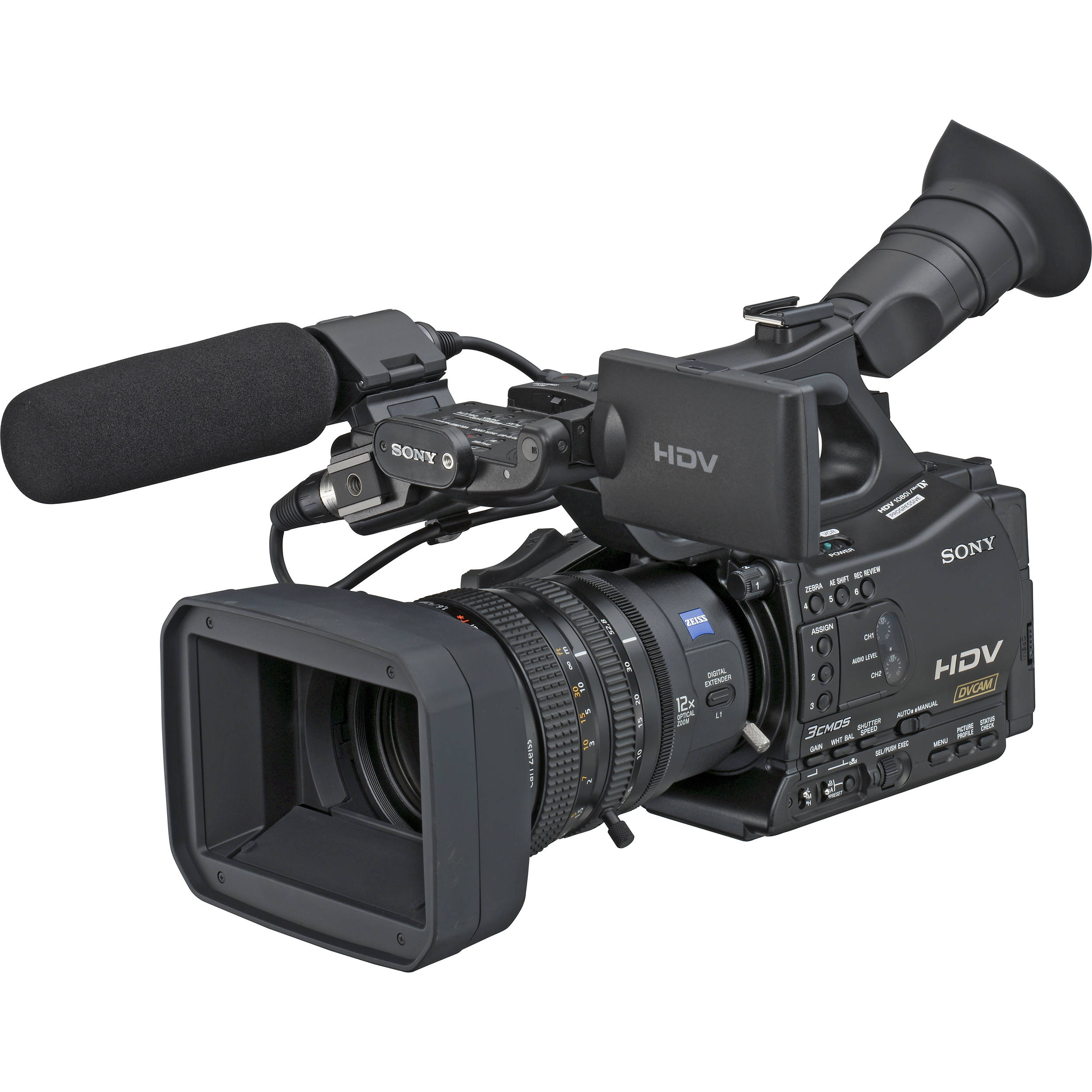 sony hvr z7u hdv camcorder hvr z7u b h photo video. Black Bedroom Furniture Sets. Home Design Ideas