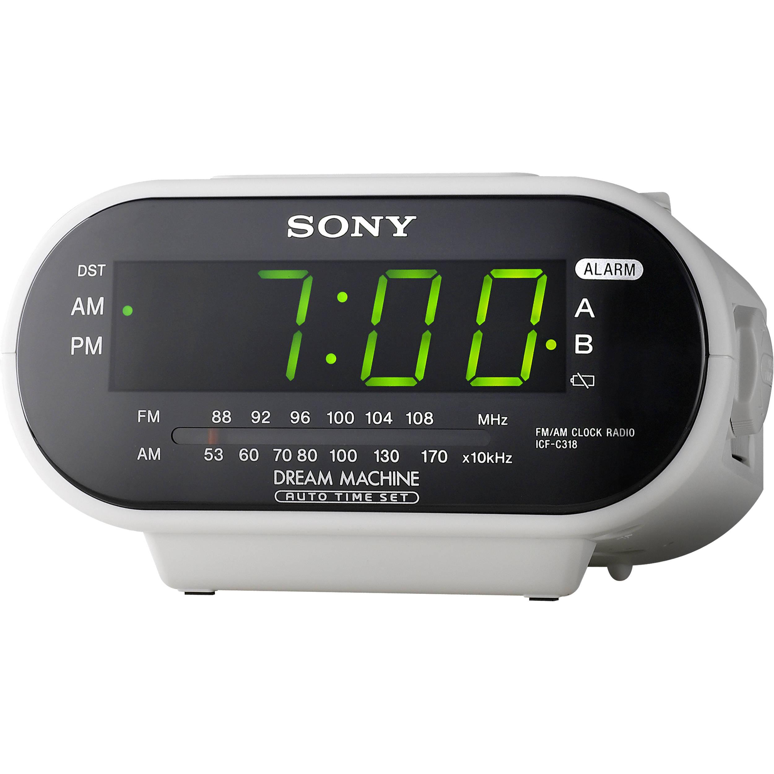 clock radios: