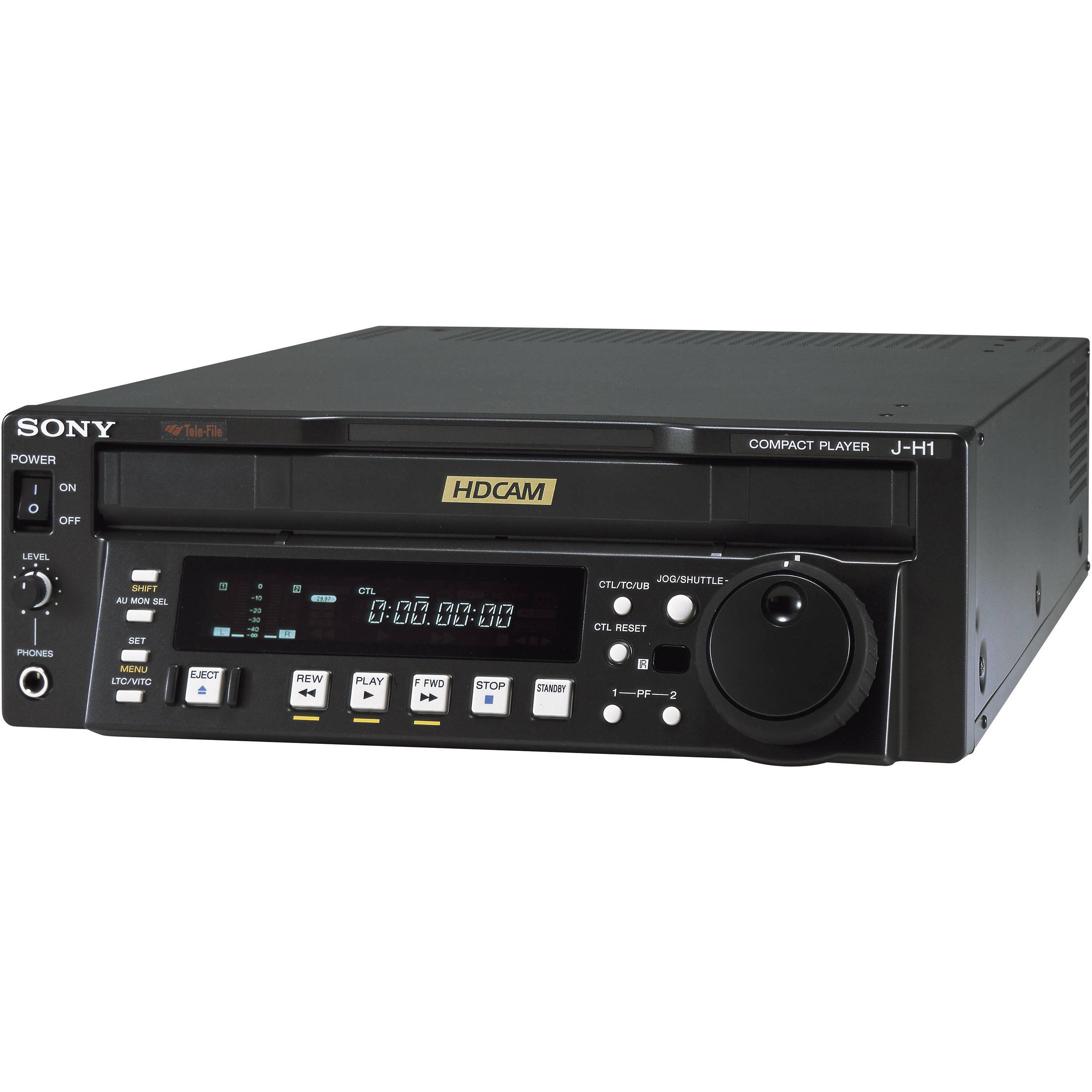sony jh 1 hdcam digital video cassette player jh1 b h photo rh bhphotovideo com DPX300U Manual Sony M 80 Manual