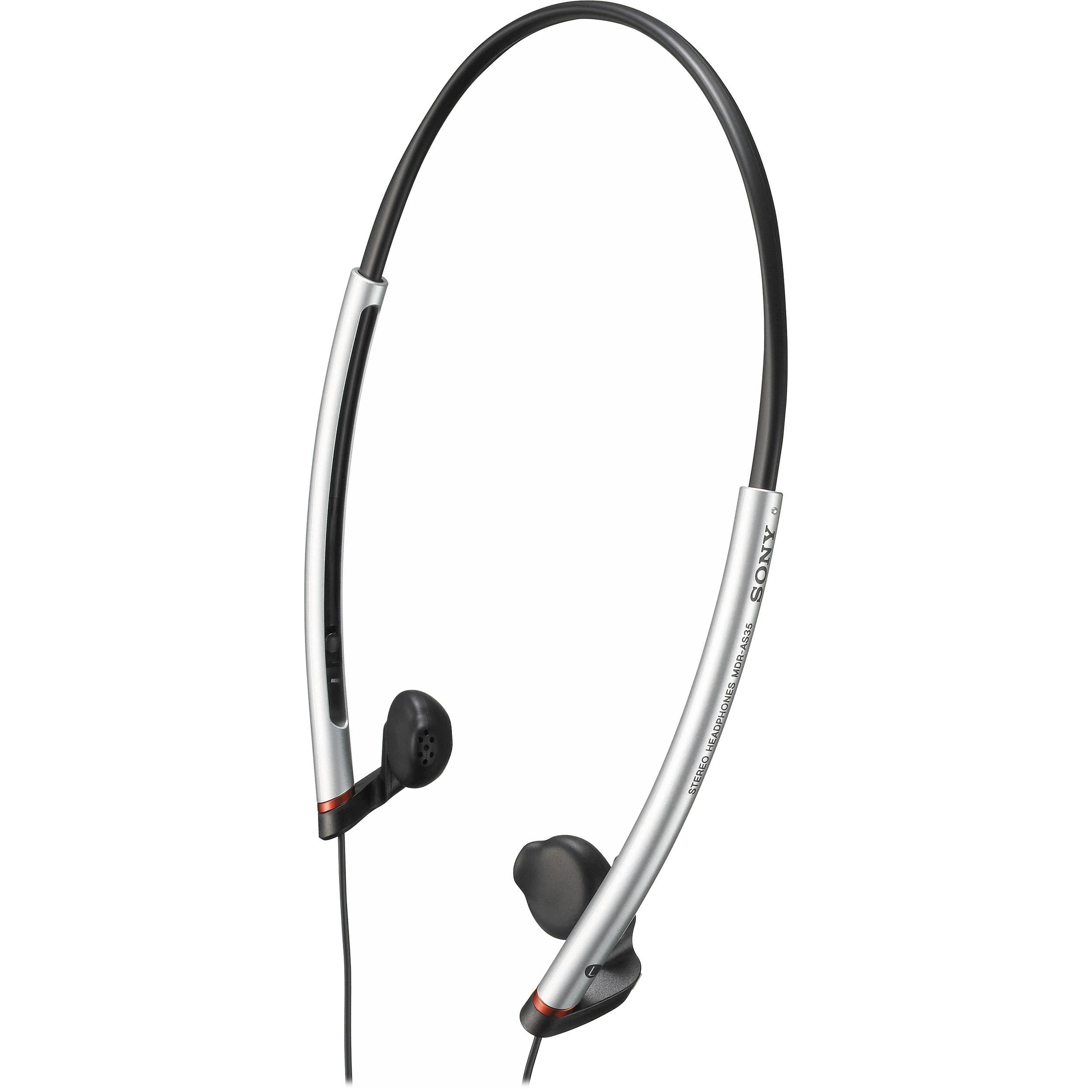 Sony MDR-AS35W In-Ear Sports Headphones MDRAS35W B&H Photo ...