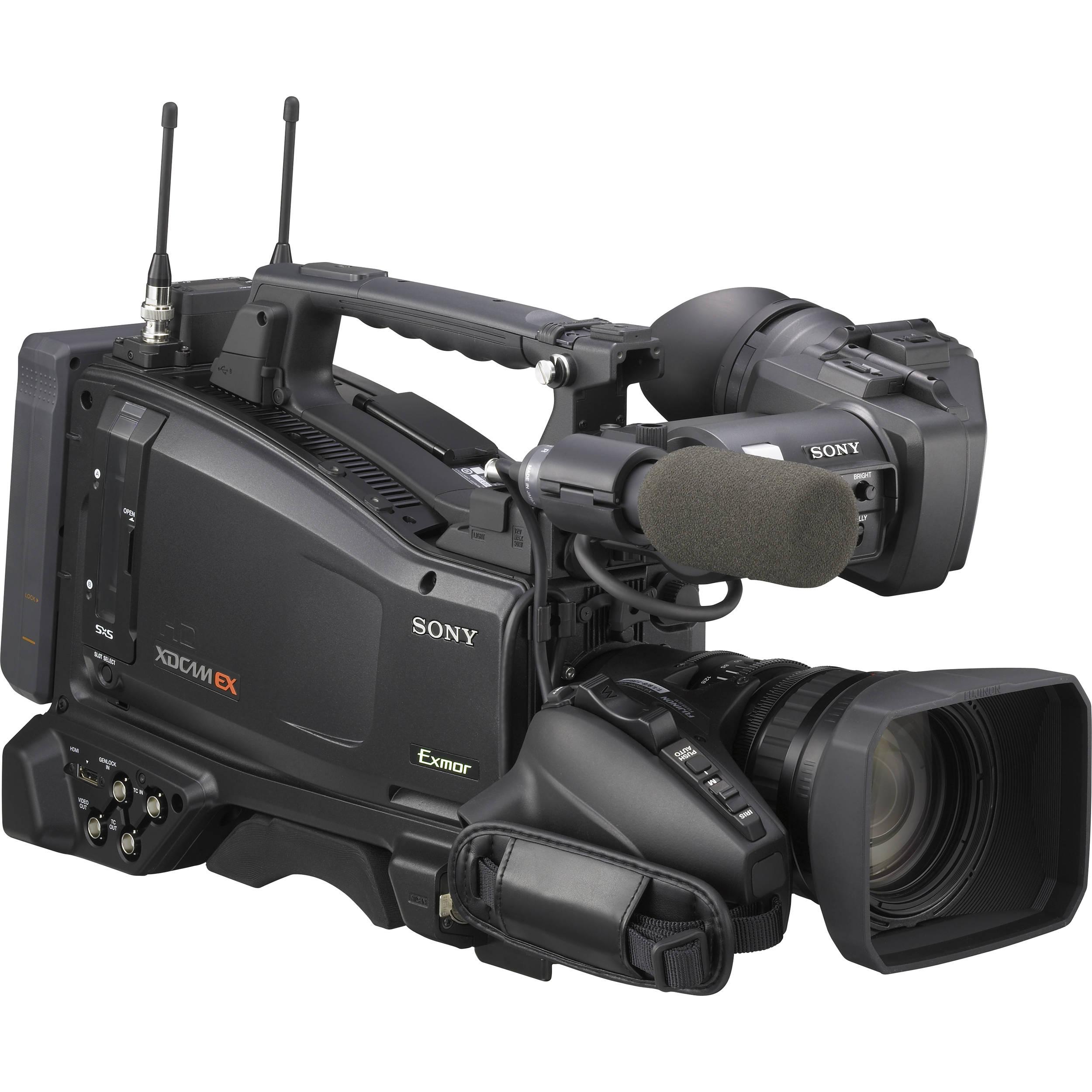 Sony Pmw 350k Xdcam Ex Hd Camcorder W 16x Zoom Lens Bh Camera Replay Xd1080 Full