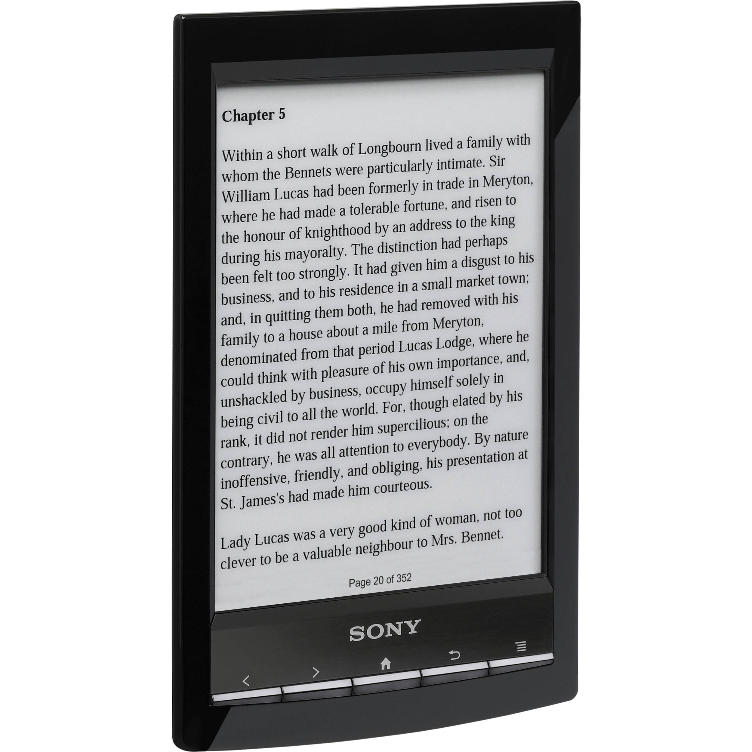 sony prs t1 wi fi reader black prs t1 bc b h photo video rh bhphotovideo com What Comes with the Sony PRS-600 Sony PRS- T2
