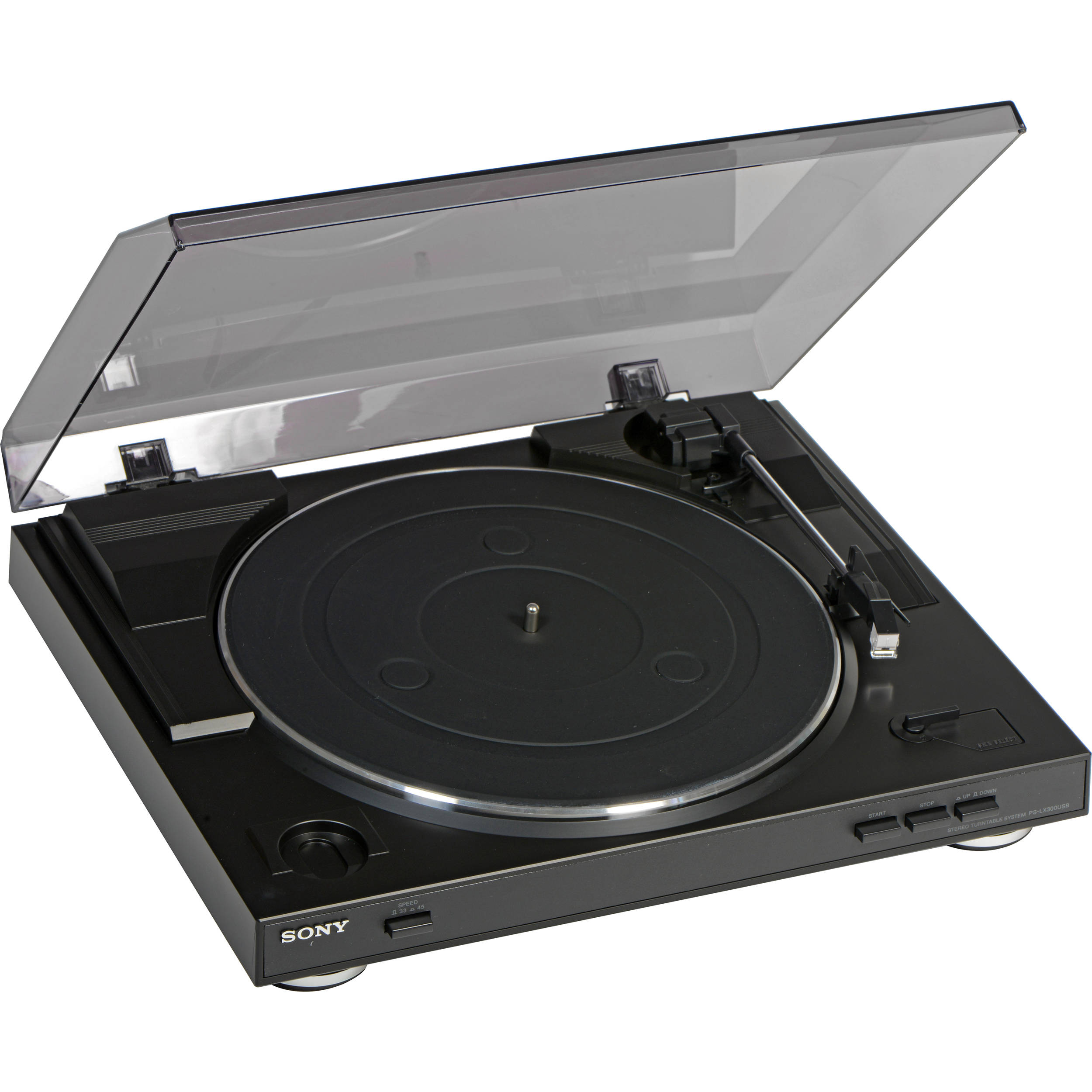 sony turntable. sony ps-lx300usb usb stereo turntable p