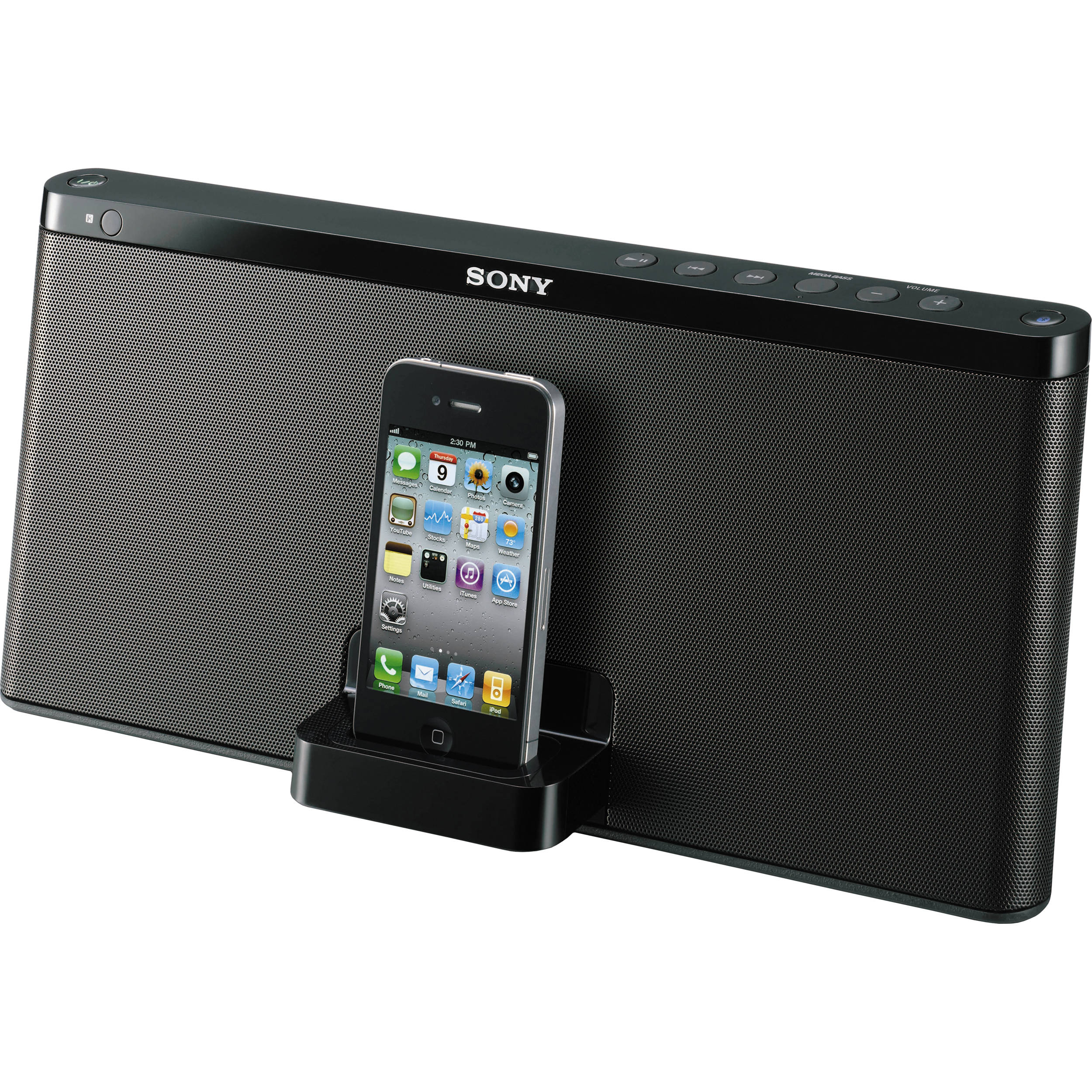 Sony RDP-X60iP IPod + IPhone Bluetooth Speaker Dock RDP-X60IP