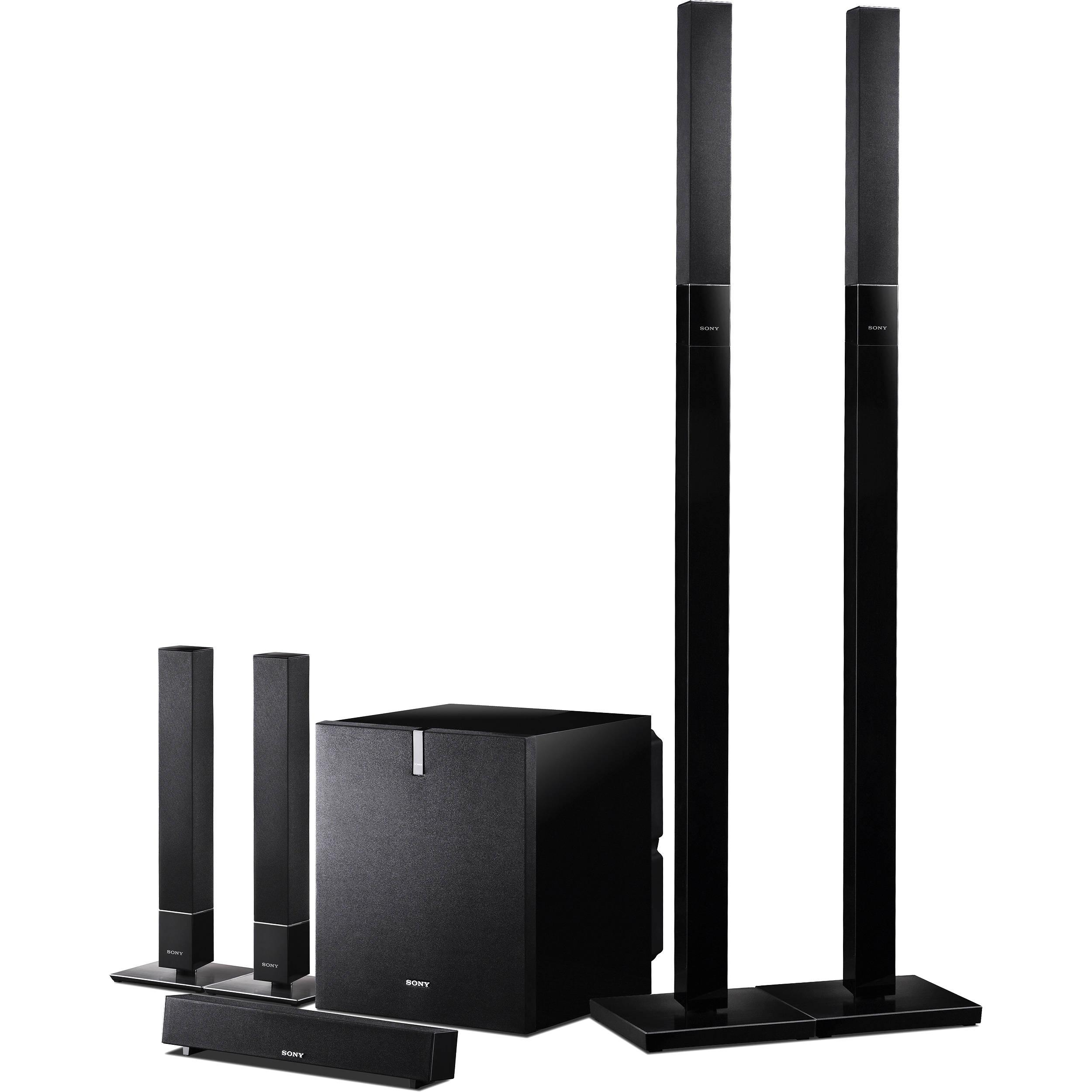 Sony SA-VS310 5.1-Channel Speaker System SAVS310 B&H Photo