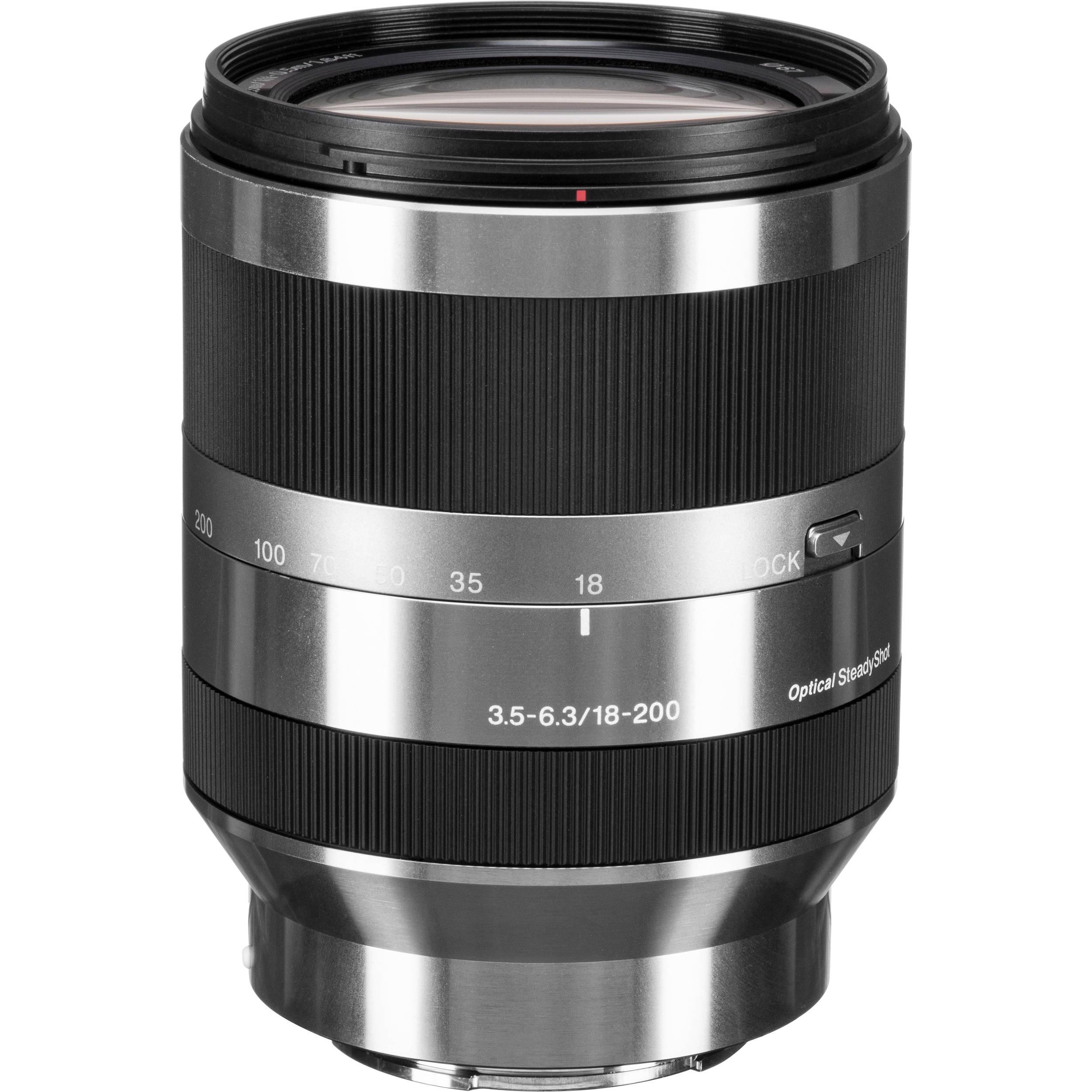 false7Sony E 18 200mm f 3 5 6 3 OSS Lens