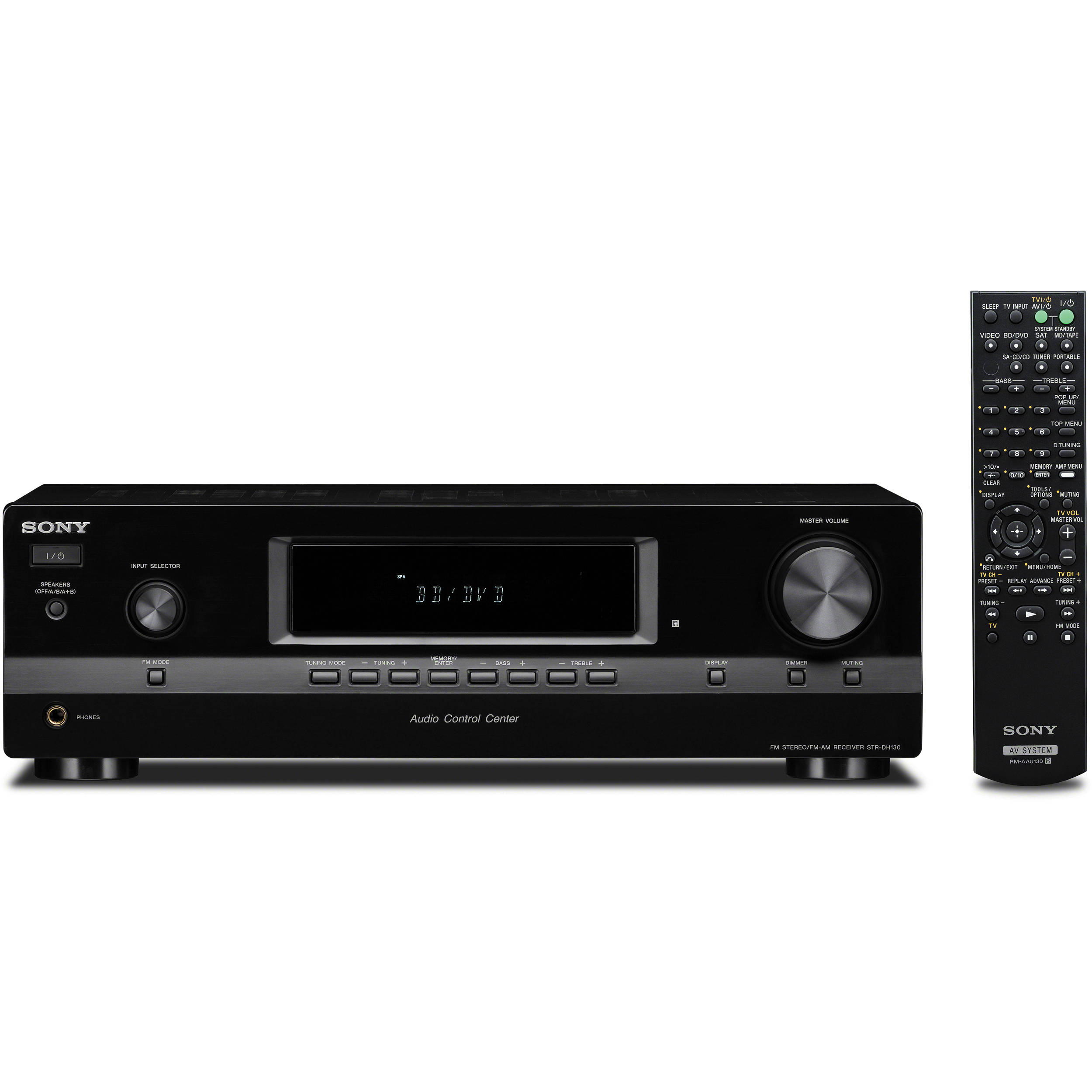 Sony STR-DH130 2-Channel Hi-Fi Receiver STR-DH130 B&H Photo