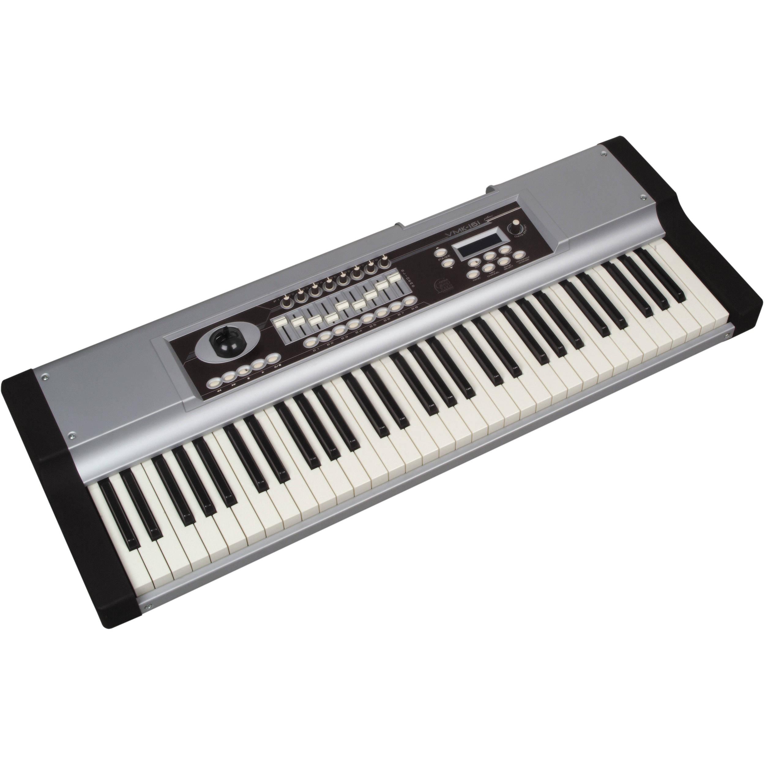 studiologic vmk 161 organ plus keyboard vmk 161 plus organ b h. Black Bedroom Furniture Sets. Home Design Ideas