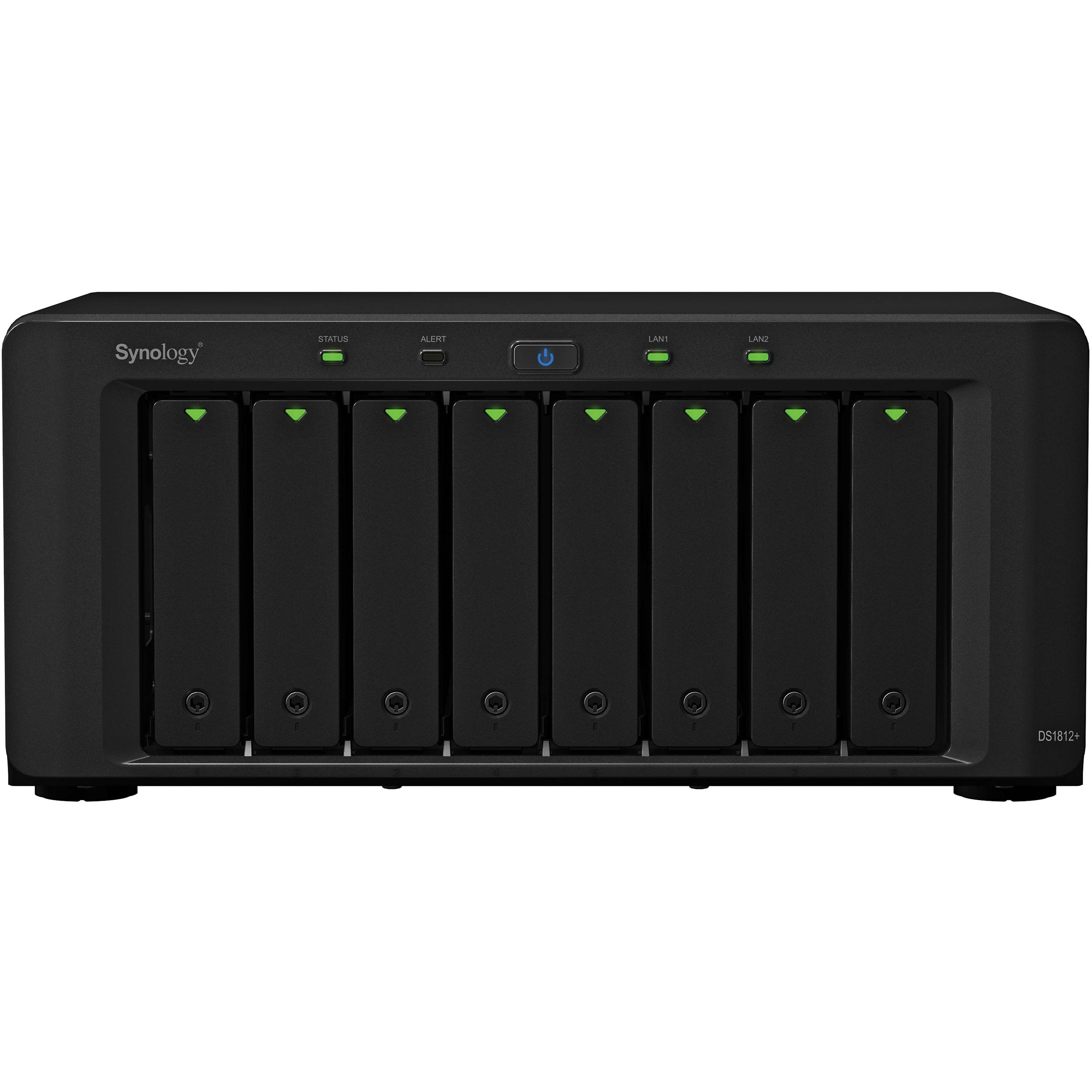 Synology DiskStation DS1812+ 8 BAY NAS Server DS1812+ B&H Photo