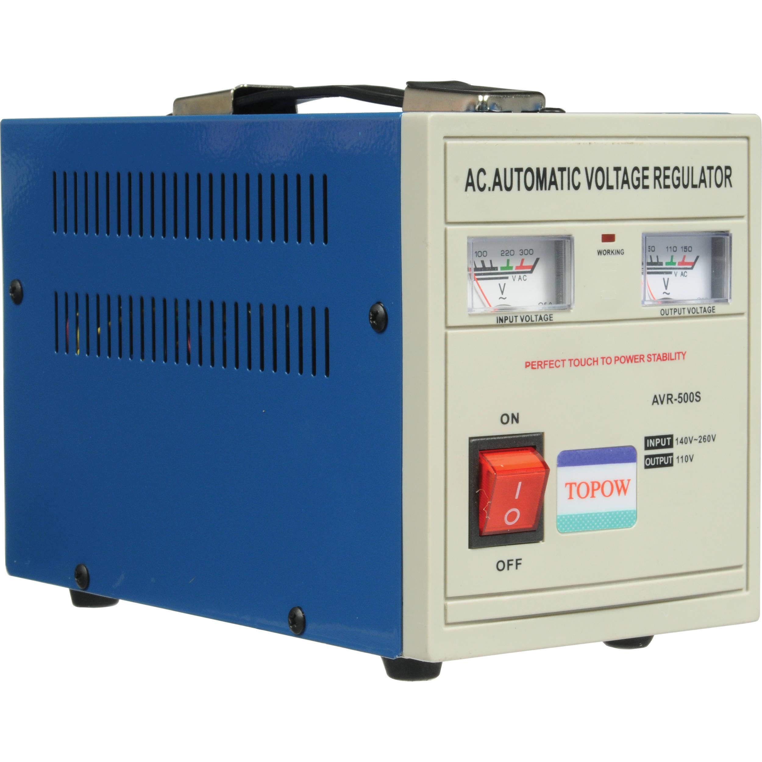 TOPOW AVR500 Step Down Transformer 500W