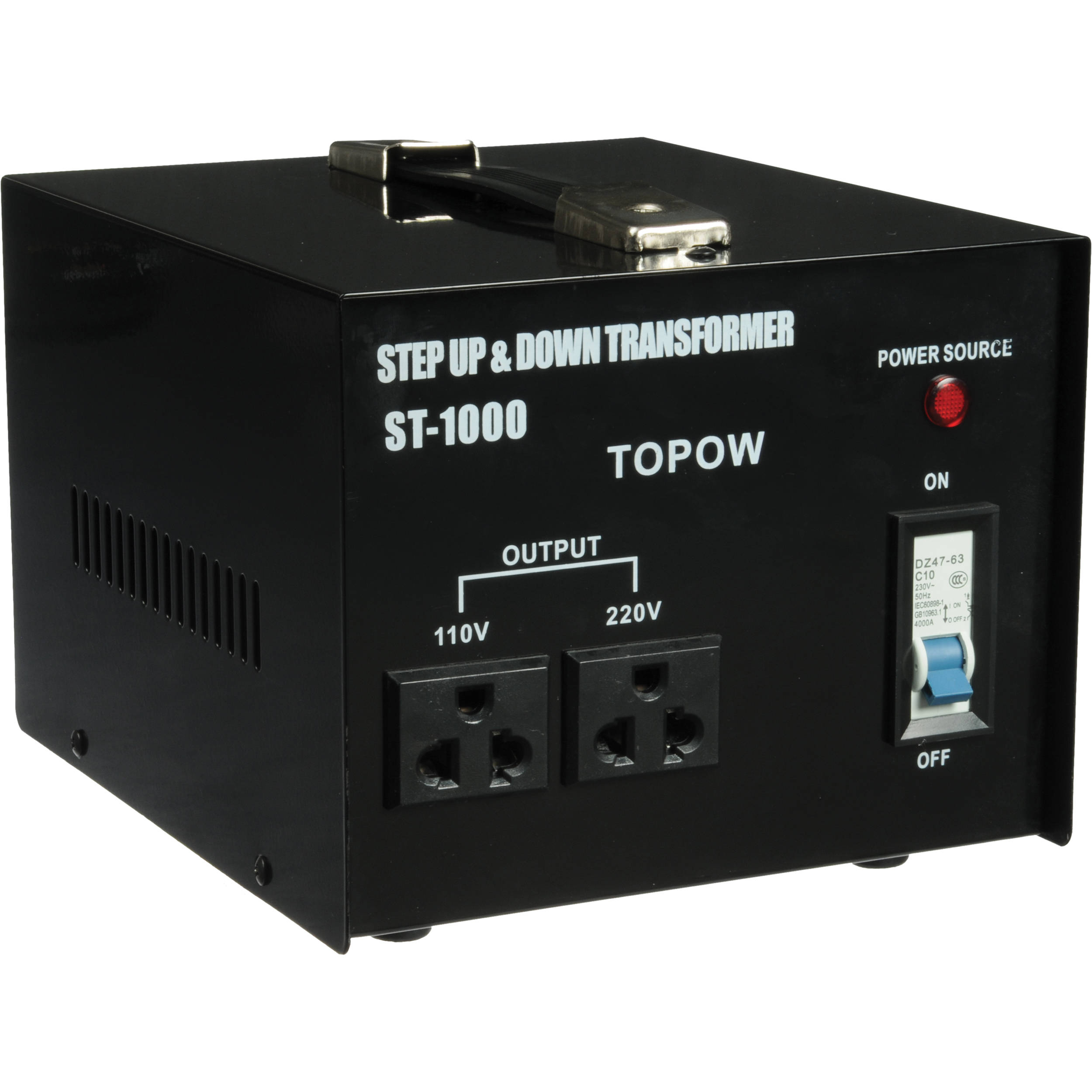 Topow St 1000 Step Up Down Transformer 1000w St1000 B Amp H