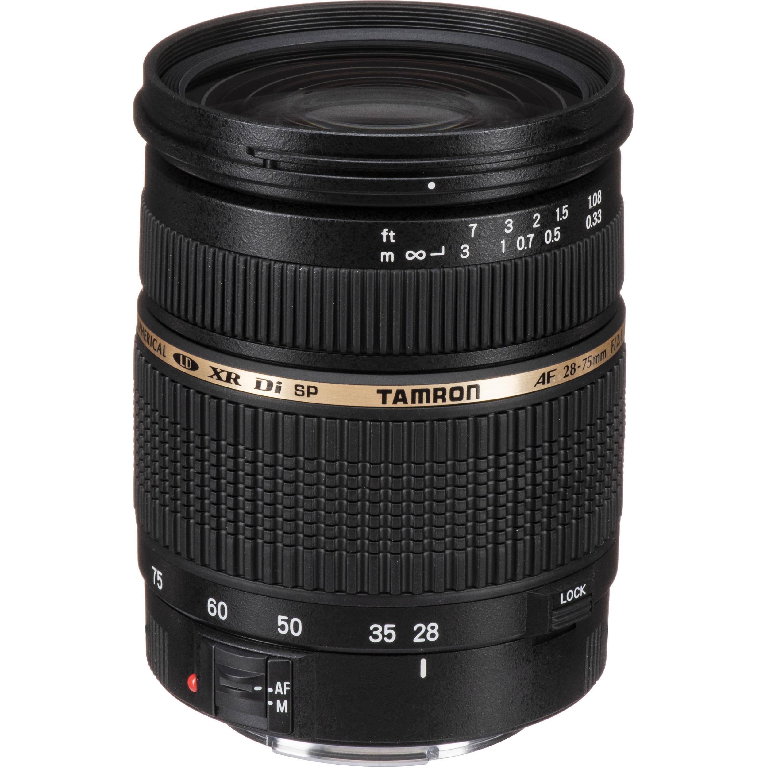 Tamron AF 28-75mm f//2.8 SP XR Di LD Aspherical for Canon Digital SLR Cameras IF Model A09E