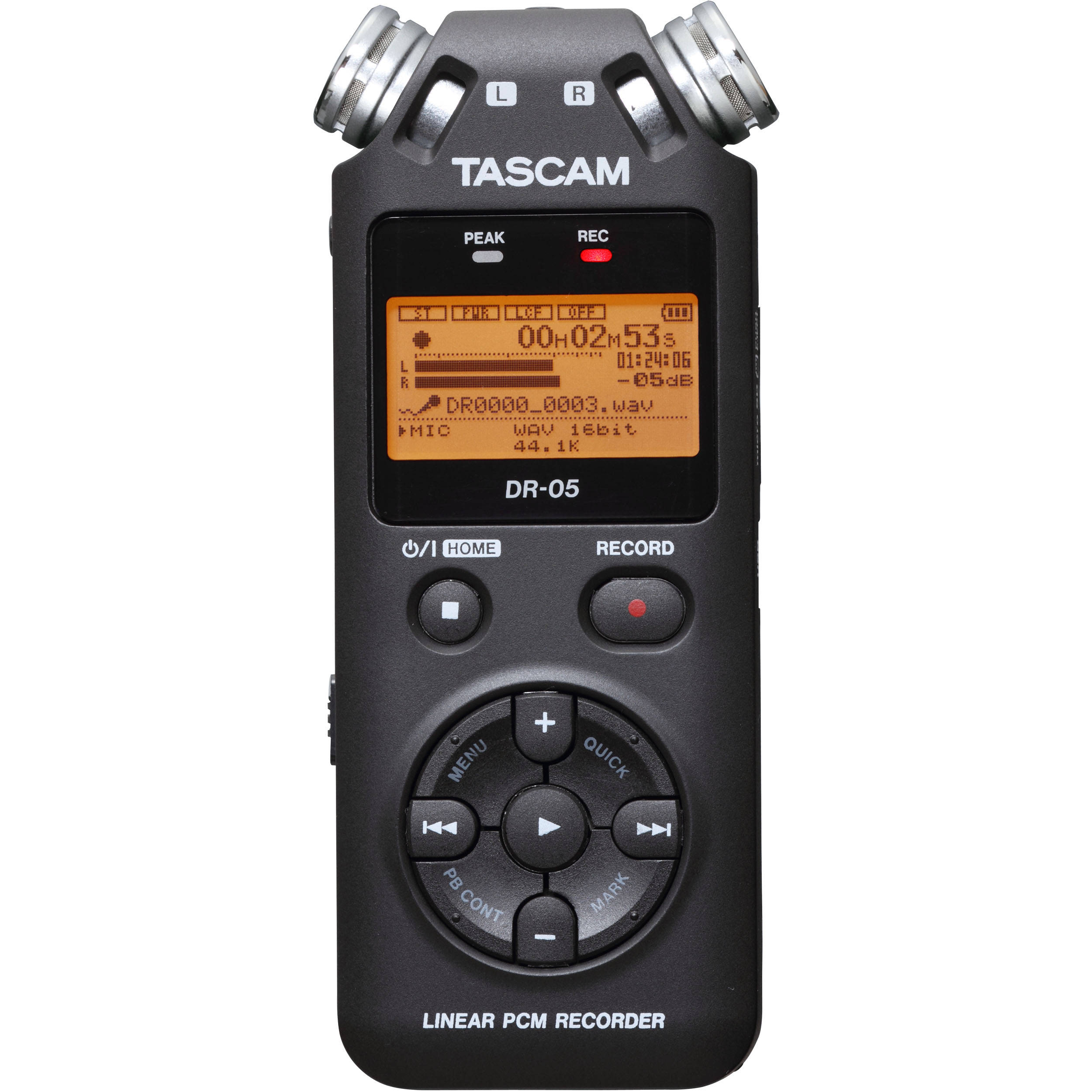 Tascam Dr 05 Portable Handheld Digital Audio Recorder Bh Hot Deals Samsung 32fh4003 Hitam Tv Led 32 Inch Black