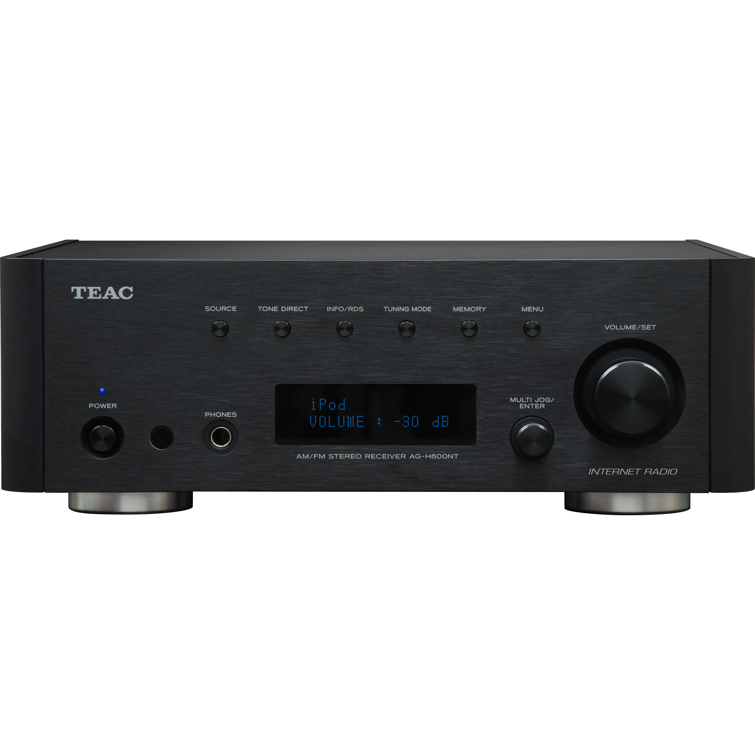 teac ag h600nt stereo receiver with internet radio ag h600nt bh
