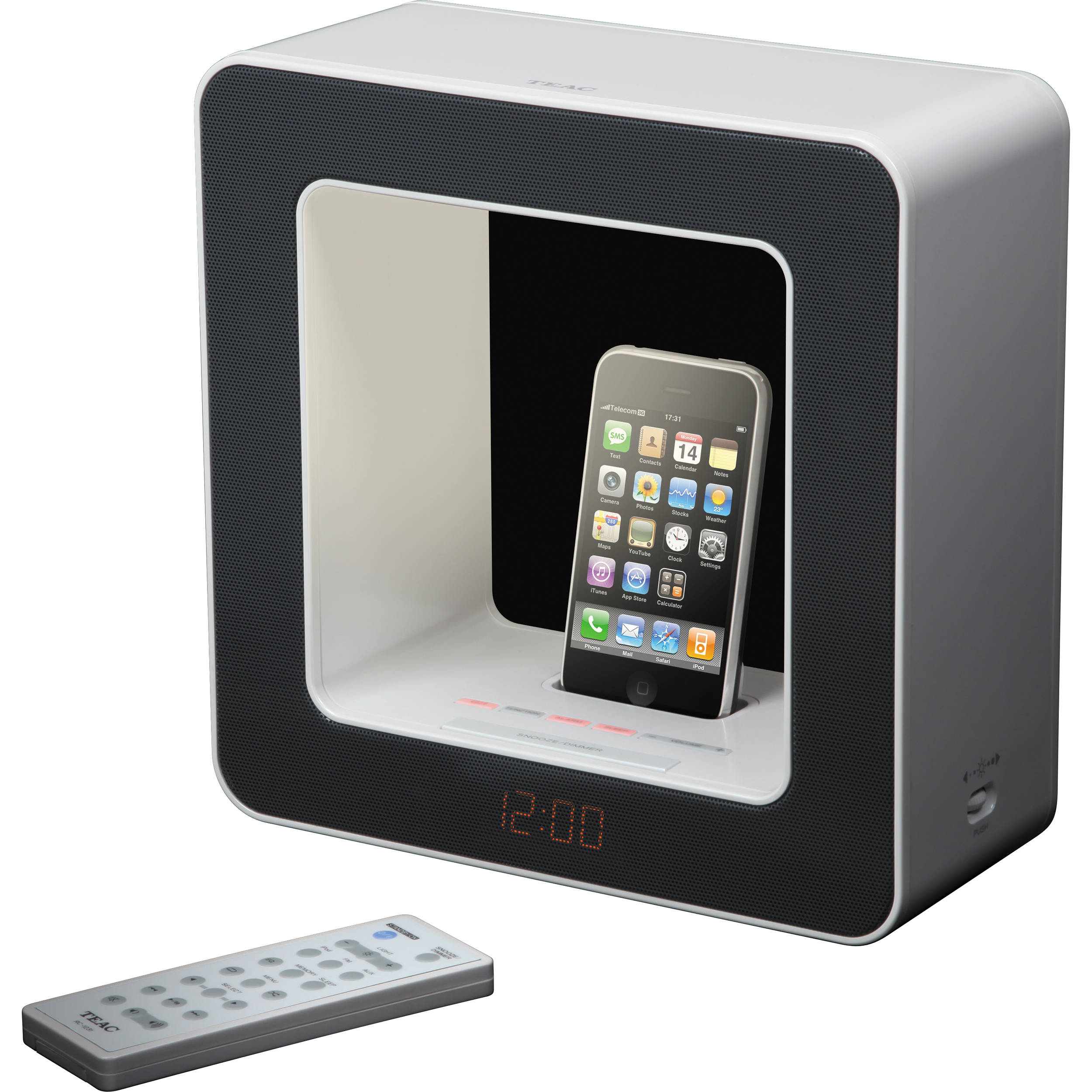 Teac SR-LUXi Table-Top Audio Lamp with iPod / iPhone SR-LUXIB