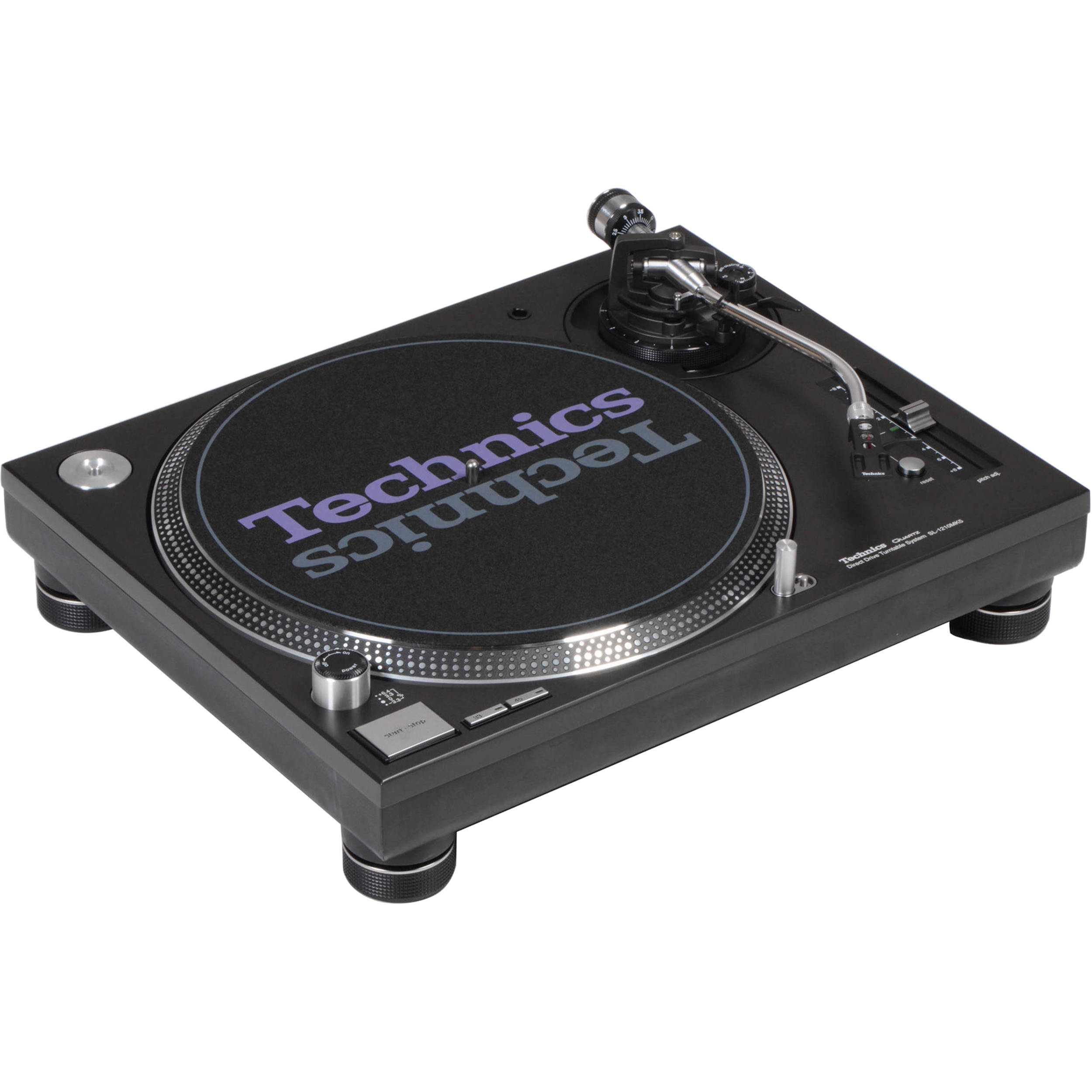 technics sl 1210mk5 analog dj turntable black sl 1210mk5 b h