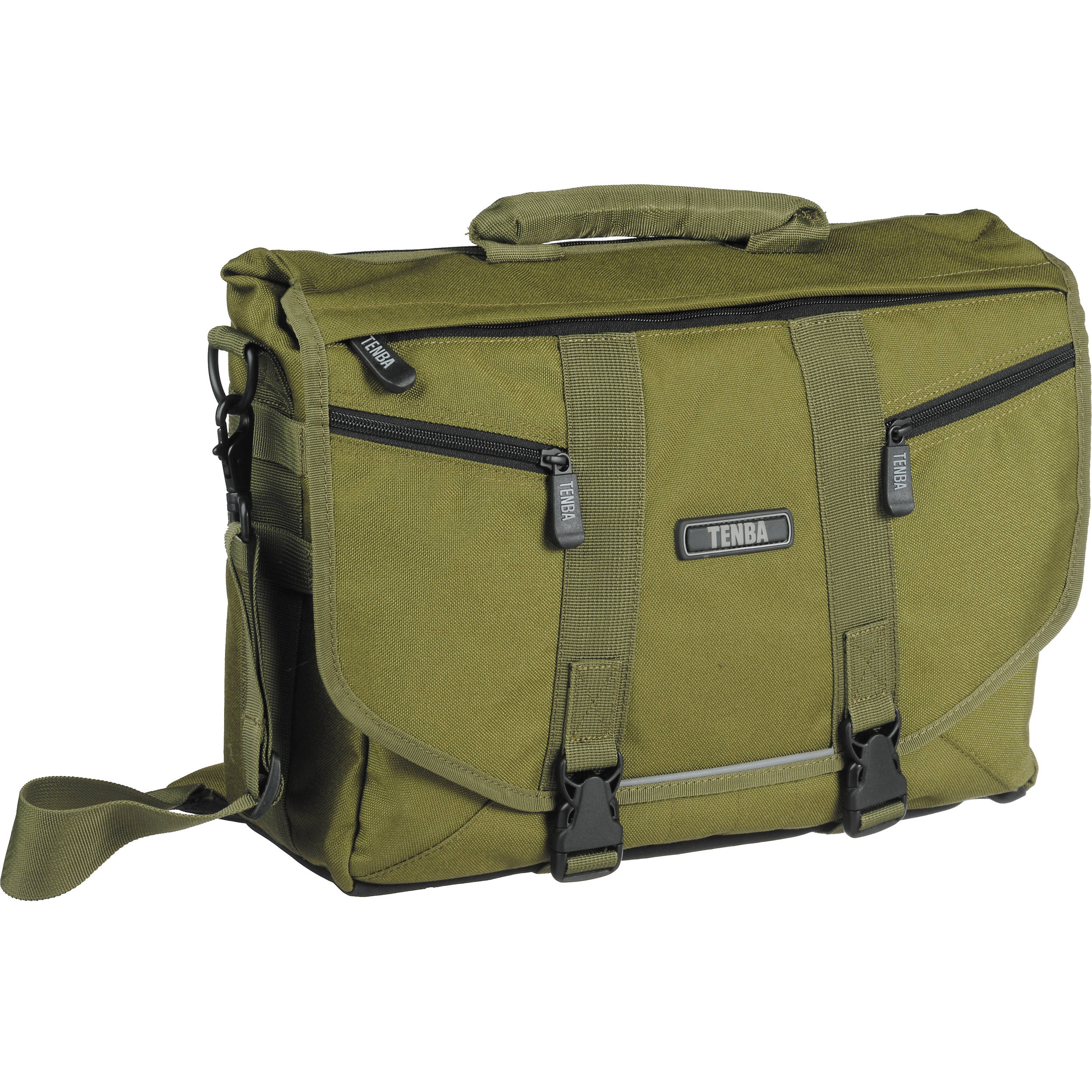 Tenba Messenger: Small Photo/Laptop Bag (Olive Green) 638-222