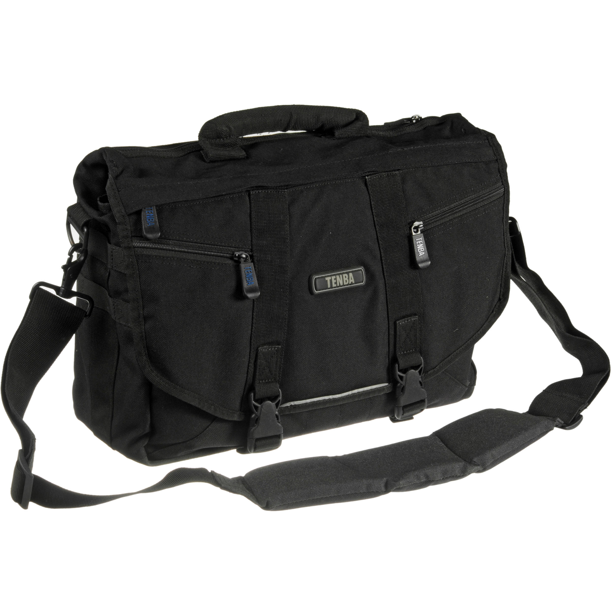Tenba Messenger: Large Photo/Laptop Bag (Black) 638-231 B&H