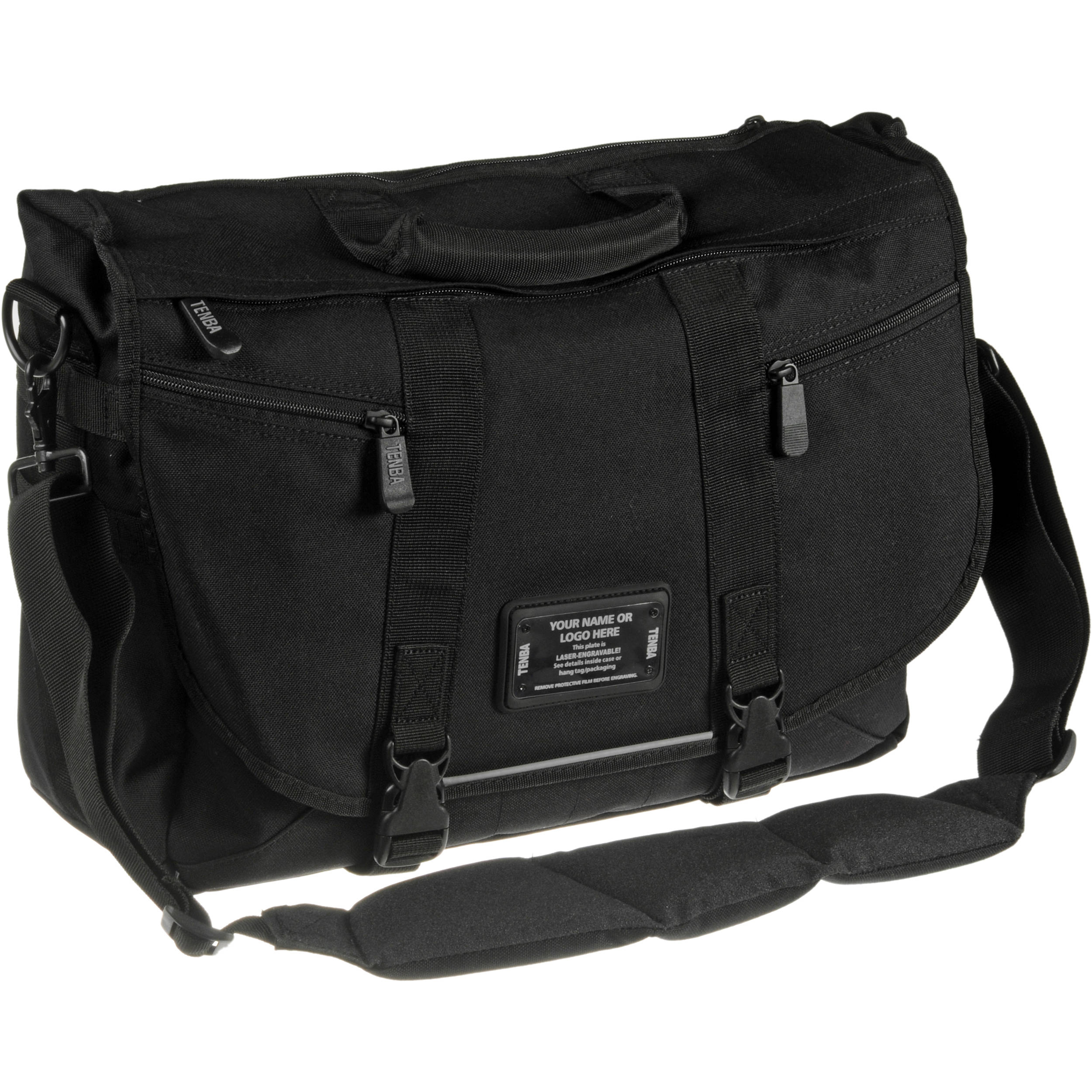 Tenba Messenger: Large Photo/Laptop Bag 638-235 B&H Photo Video
